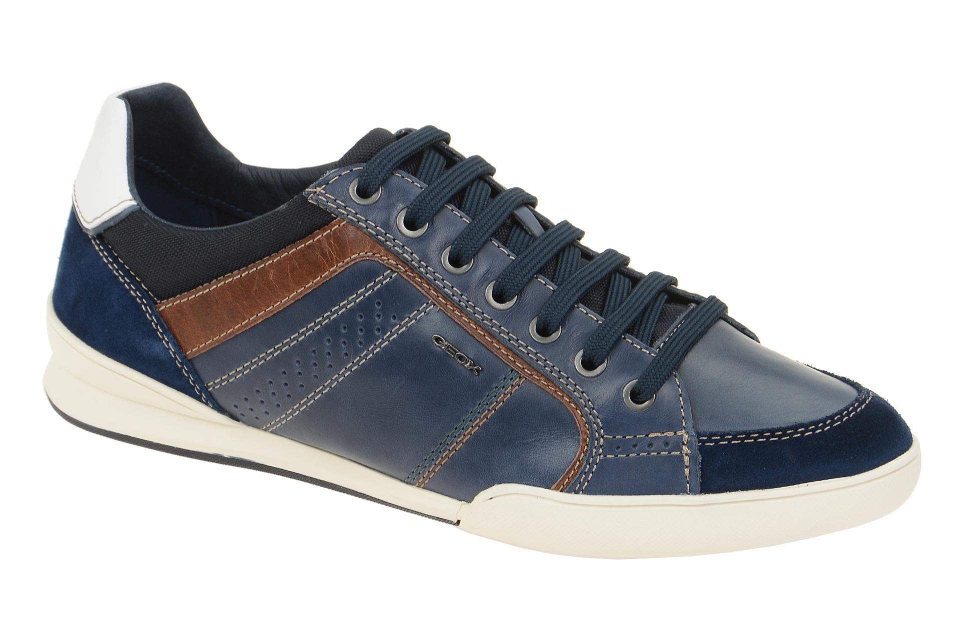 Geox BOX Herrenschuhe Sneakers Halbschuhe braun NEU