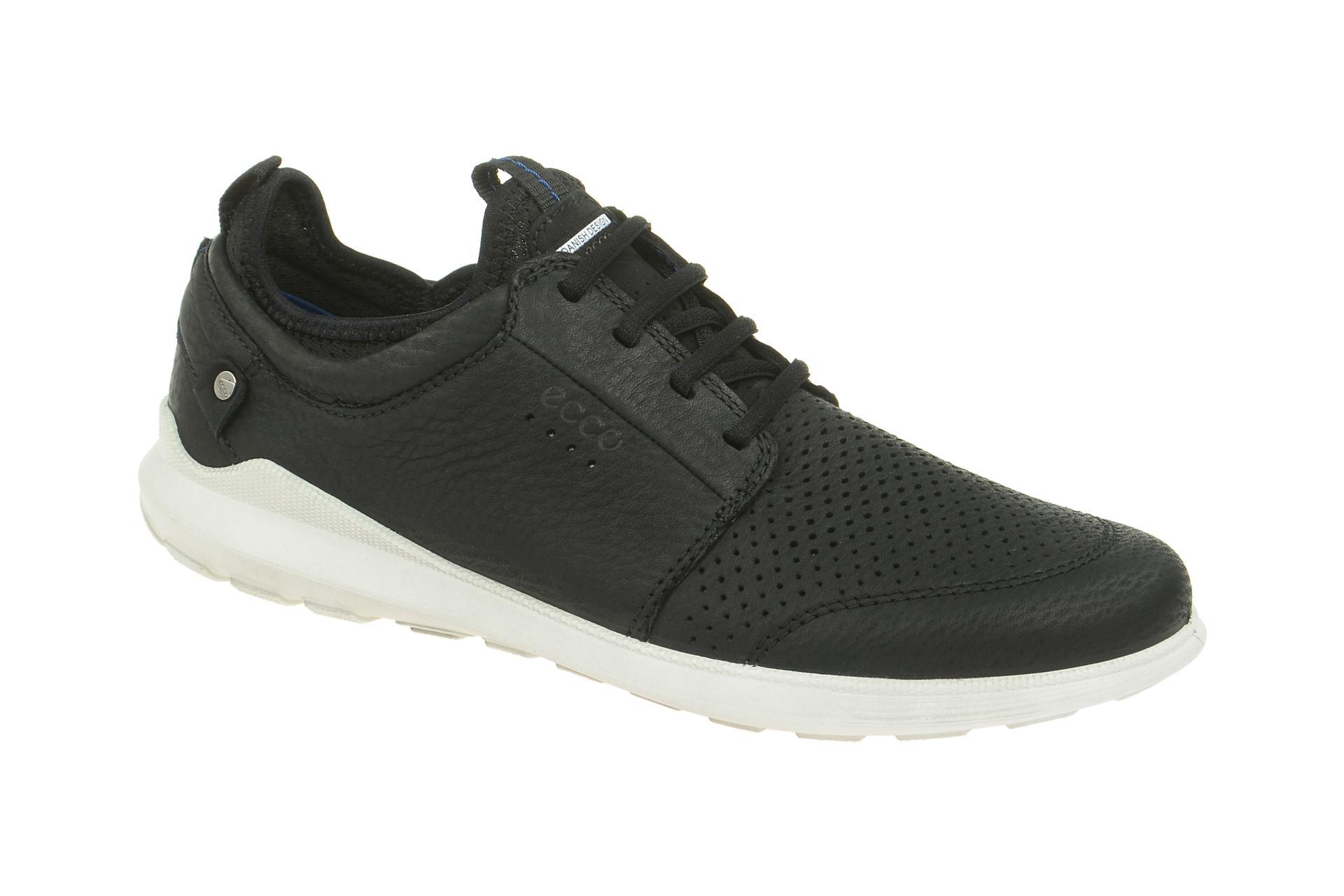9abf7f043bcdf2 Ecco Schuhe TRANSIT schwarz Herrenschuhe Sneakers 53480402001 NEU