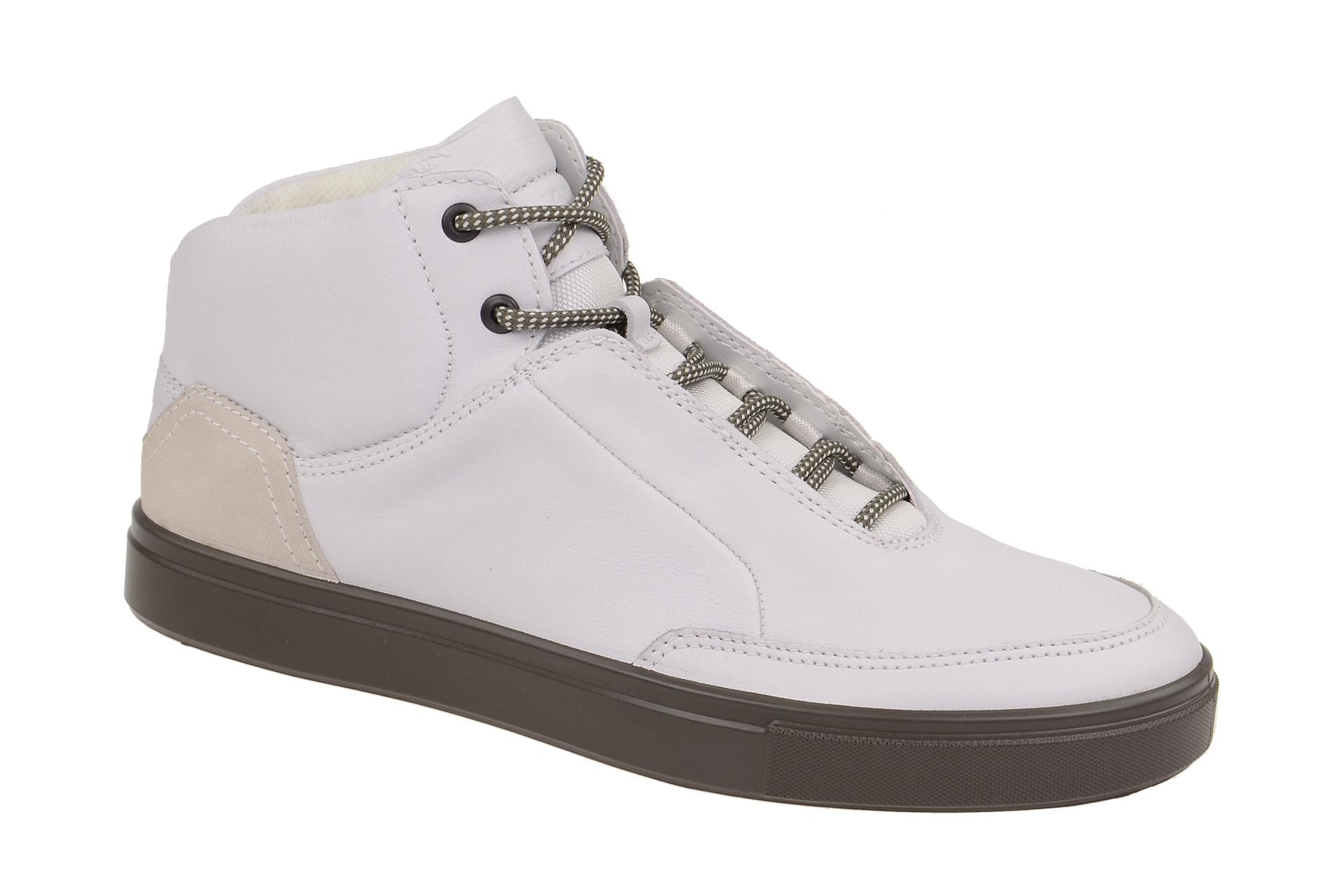 79d05193d9d19b Ecco Kyle Sneaker weiß Herren Boots - Schuhhaus Strauch Shop