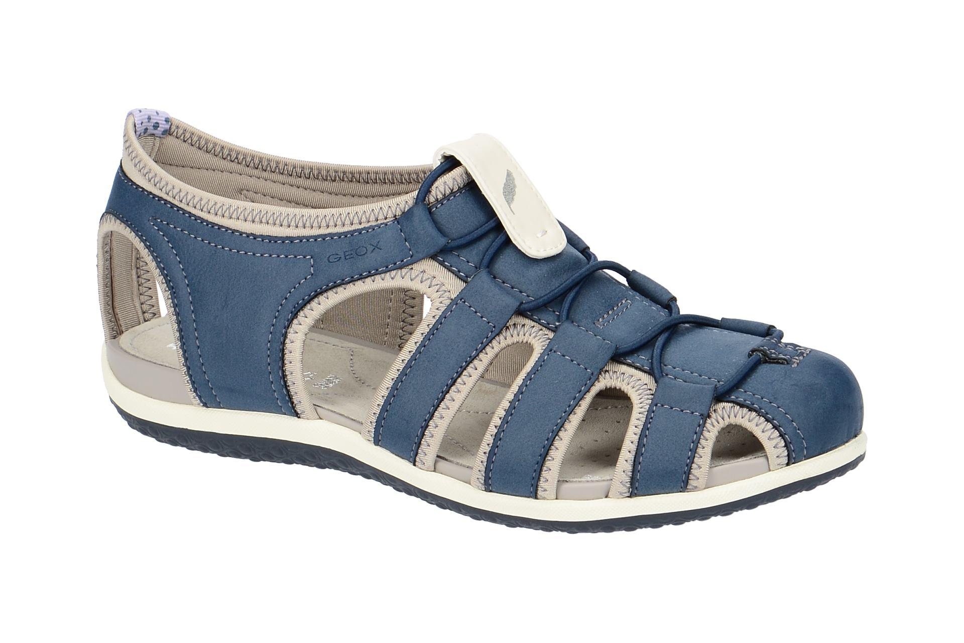 geox sandale vega blau d62r6d schuhhaus strauch shop. Black Bedroom Furniture Sets. Home Design Ideas