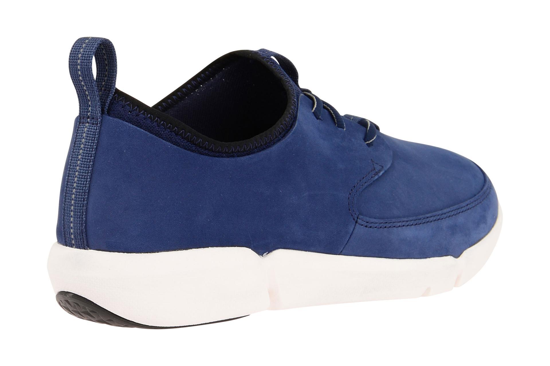 clarks triflow schuhe blau herren sneaker schuhhaus. Black Bedroom Furniture Sets. Home Design Ideas