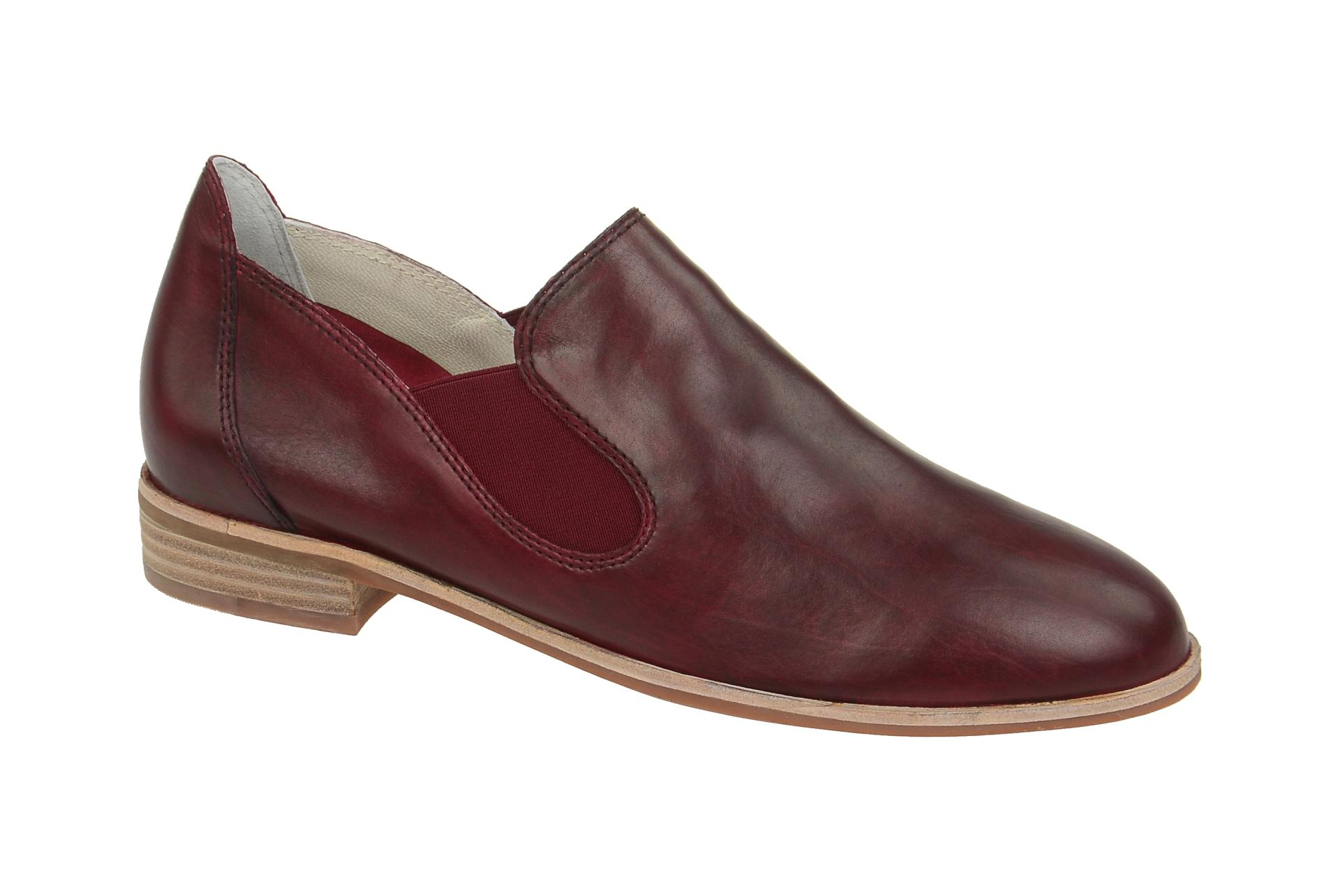 the latest 677c9 91d1b Details zu Everybody Schuhe 30504G2365 rot Damenschuhe elegante Slipper  30504G2365 sangria