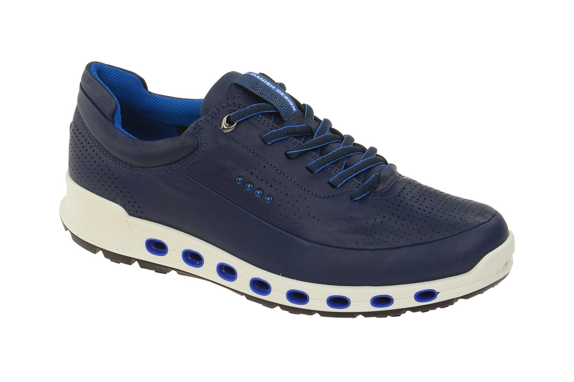 4ccb8414238416 ecco Cool 2 Schuhe blau Herren GORE-TEX Surround - Schuhhaus Strauch Shop