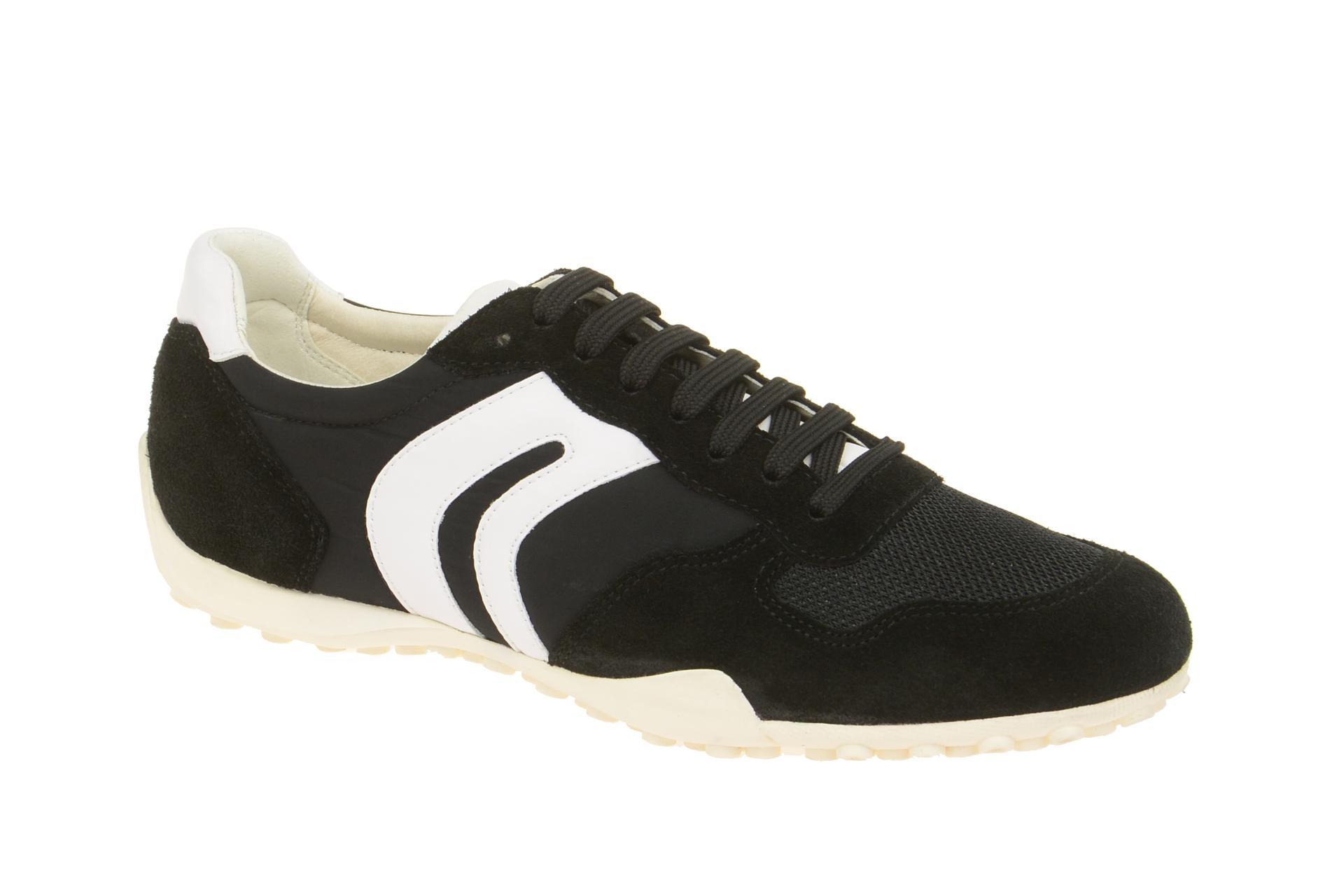 info for 56333 bfeac Geox Schuhe Snake schwaz Damen Sneaker