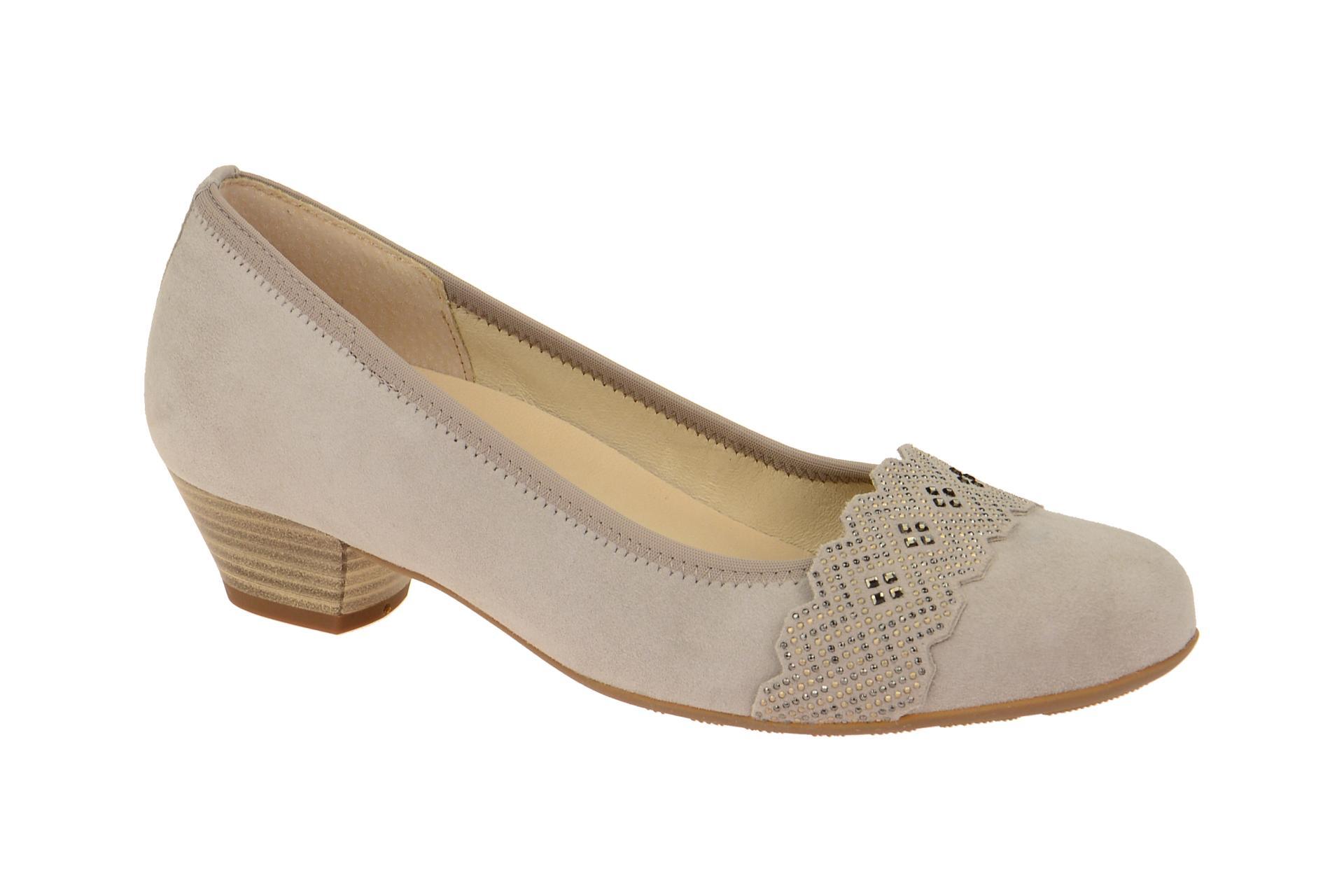 new styles 8fb58 a2b3b Details zu Gabor Schuhe MALTA grau Damenschuhe Pumps 66.134.44 NEU