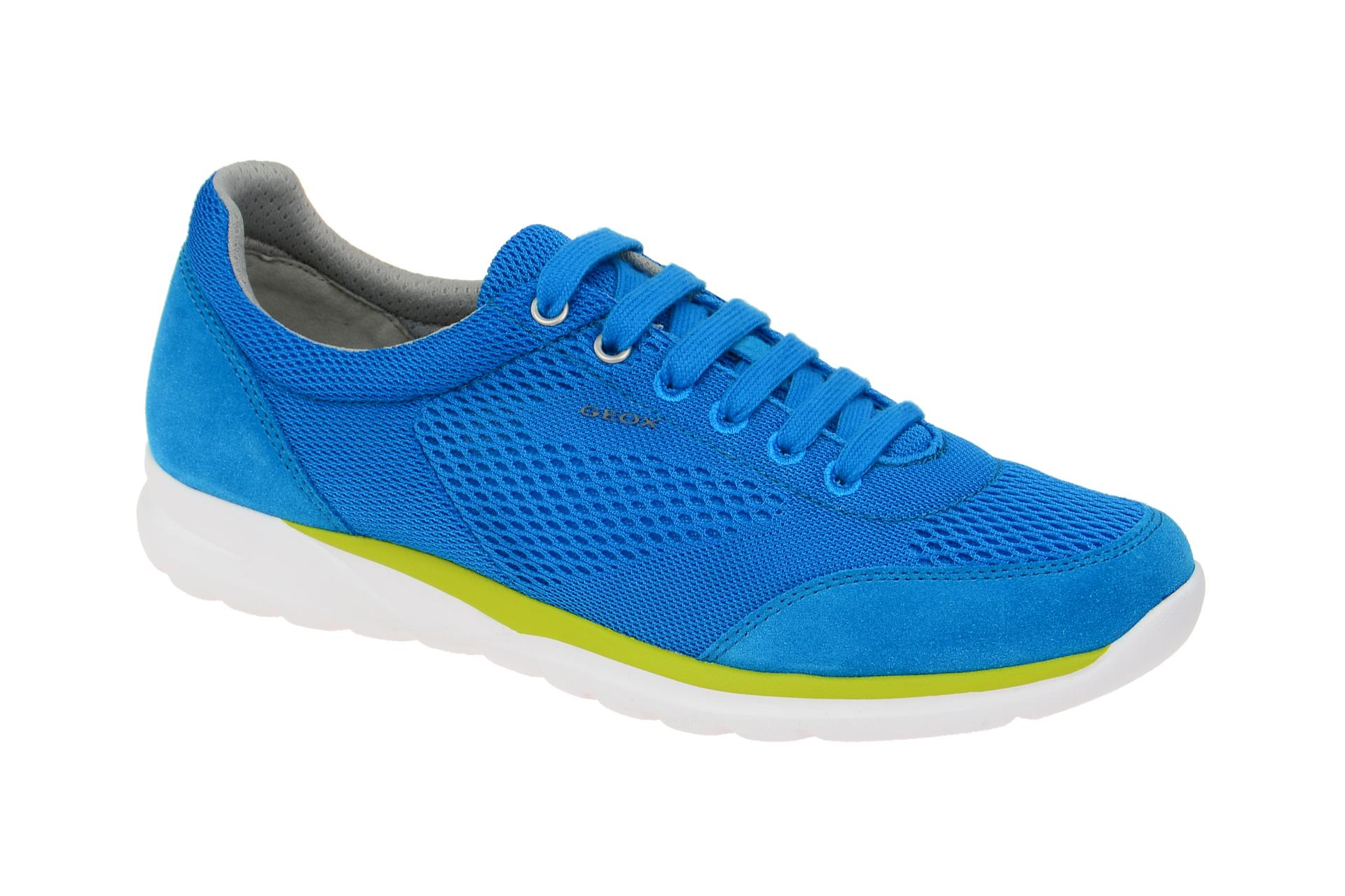 3a325b9d88 Geox Schuhe DAMIAN blau Herrenschuhe sportliche Halbschuhe U720HB 01422  C4004