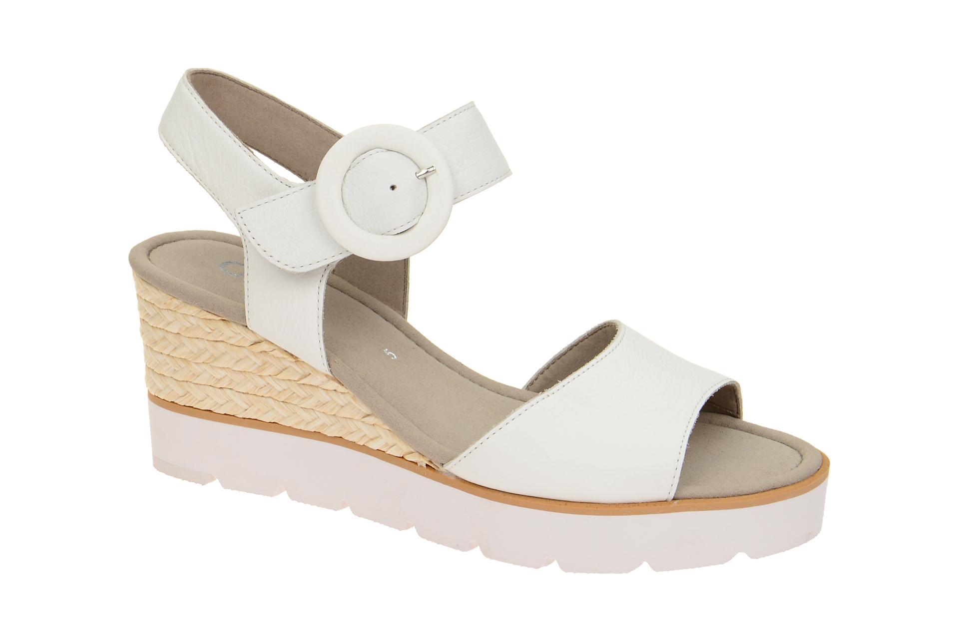 Gabor 85.764 Sandalette für Damen in weiß - 85.764.21 Rabatt Großer Rabatt Steckdose Authentisch 5rxT4NrkE