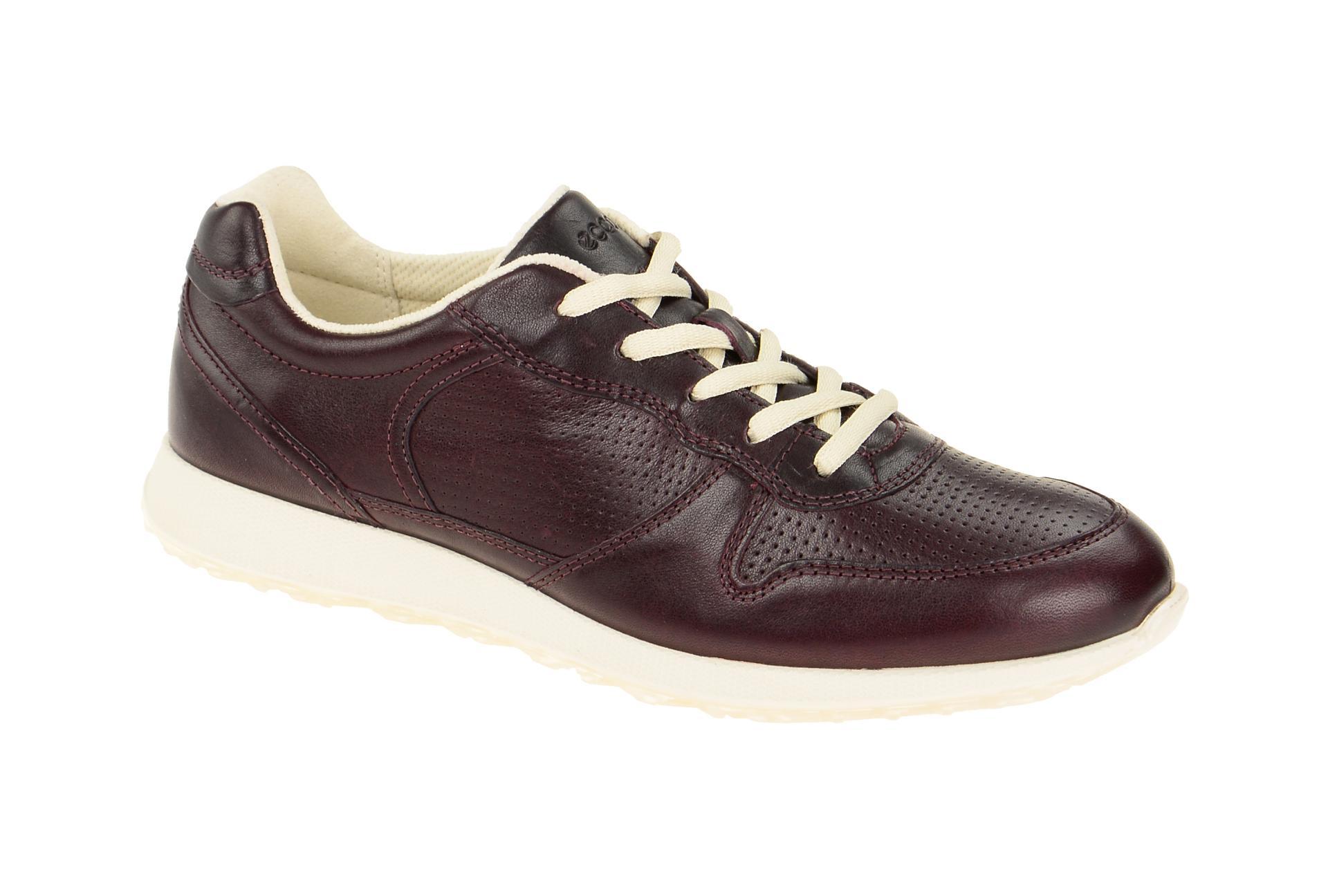 new products caf42 b7add Details zu Ecco Schuhe SNEAK LADIE´s rot Damenschuhe 43056301070 NEU