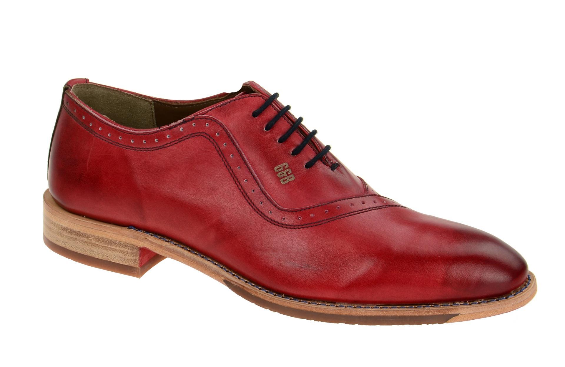 gordon bros schuhe mirco rot herrenschuhe elegante halbschuhe s160744 red ebay. Black Bedroom Furniture Sets. Home Design Ideas