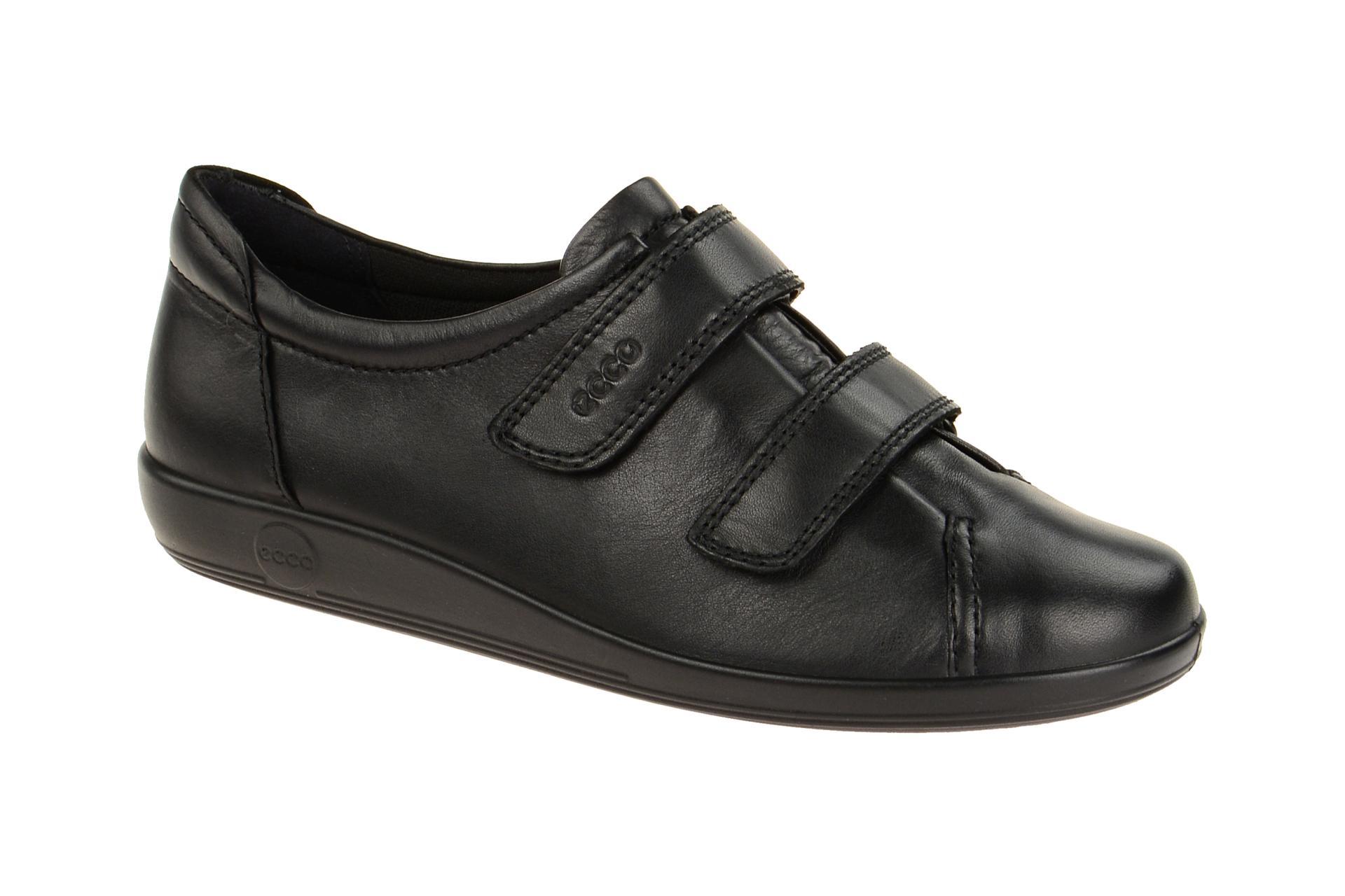 Ecco Soft 2 Schuhe schwarz schwarz Schuhe Klett Schuhhaus Strauch Shop 390f7a