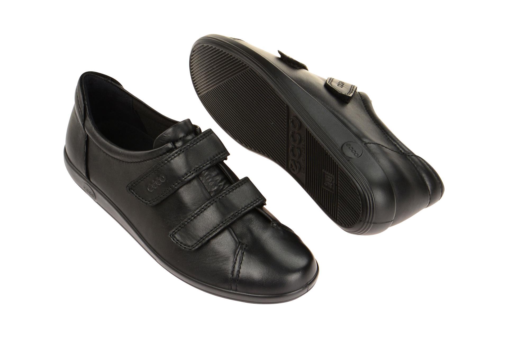 d0ac61c712a4bf Ecco Schuhe SOFT 2.0 schwarz Damenschuhe bequeme Slipper 20651356723 ...