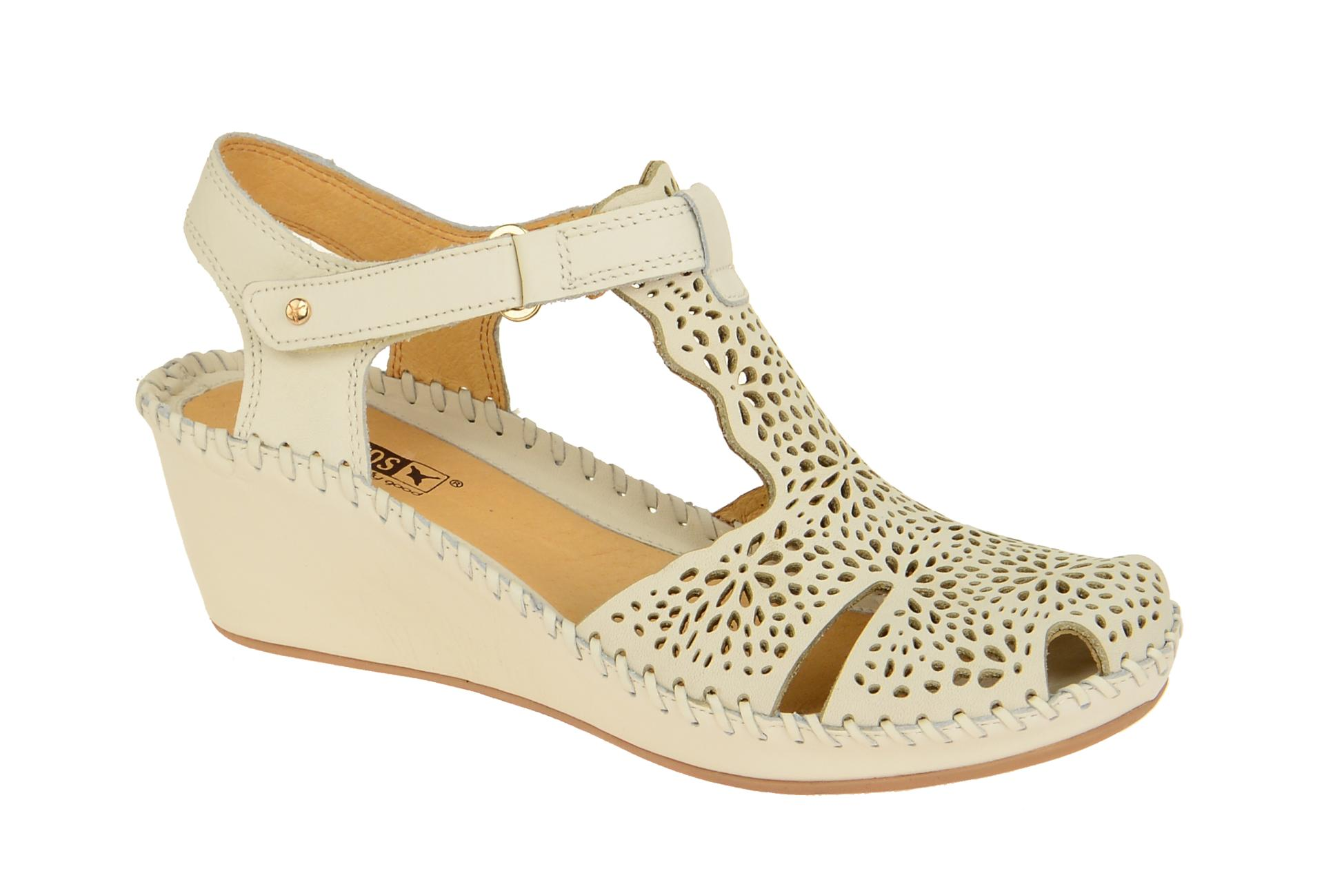 Pikolinos 0985 Sandale Margarita Sandaletten Damen Weiß Schuhe 943 gpzqrg