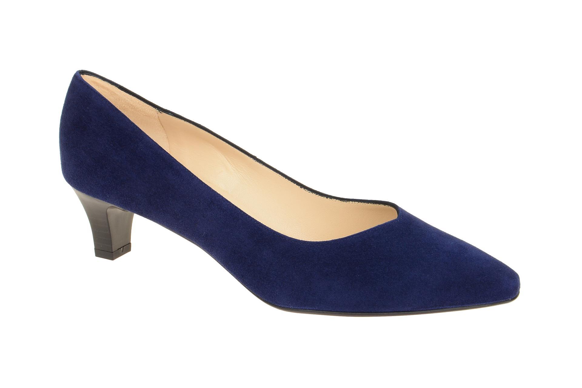 Details zu Peter Kaiser Schuhe EIKA 45 blau Damenschuhe Pumps 47921025 NEU