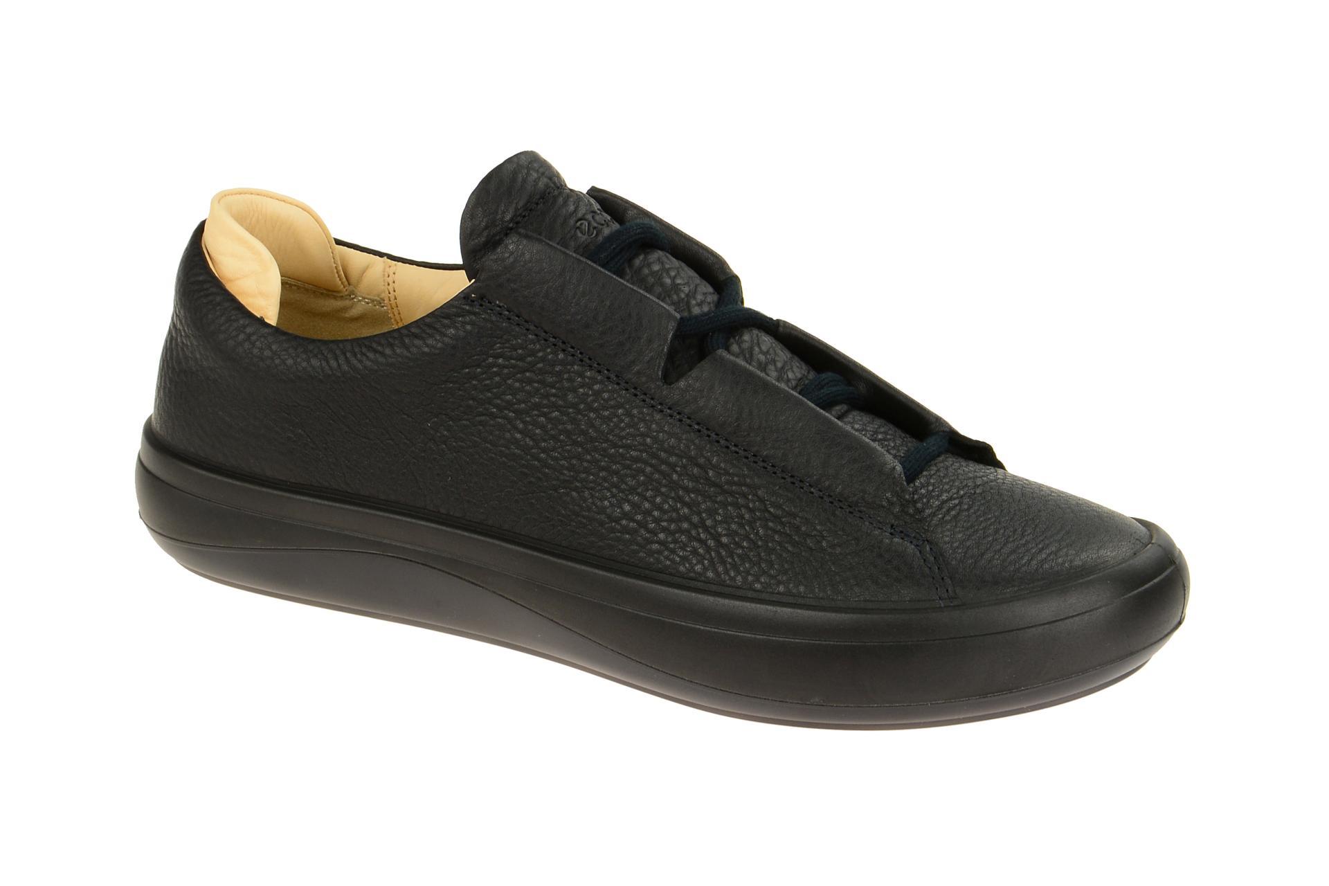 Ecco KINHIN Herrenschuhe Sneakers Halbschuhe schwarz NEU