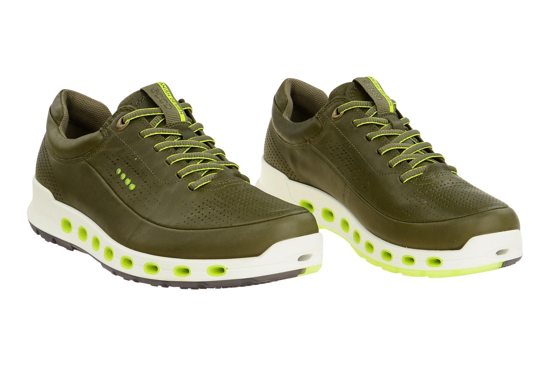 47167f9dbb144e Ecco Schuhe COOL 2.0 grün Herrenschuhe Sneakers 84251401543 NEU
