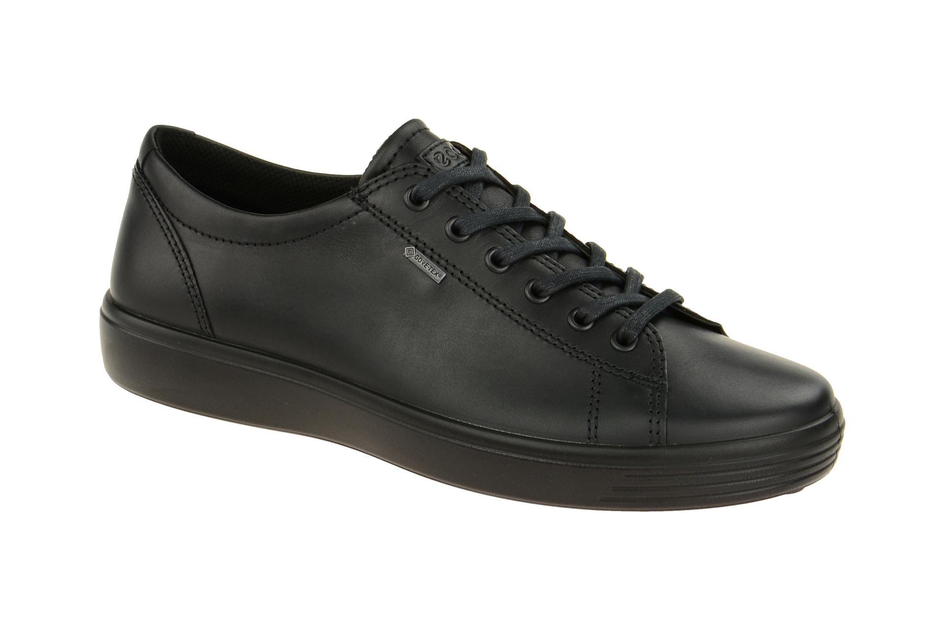 84de4b91fedc Ecco Soft 7 Schuhe schwarz GORE-TEX online kaufen