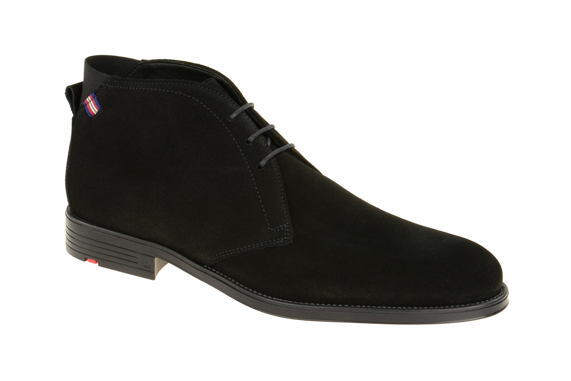 LLOYD Schuhe PATRIOT schwarz Herrenstiefelette elegante Stiefeletten  27-643-10 7742c3b11e