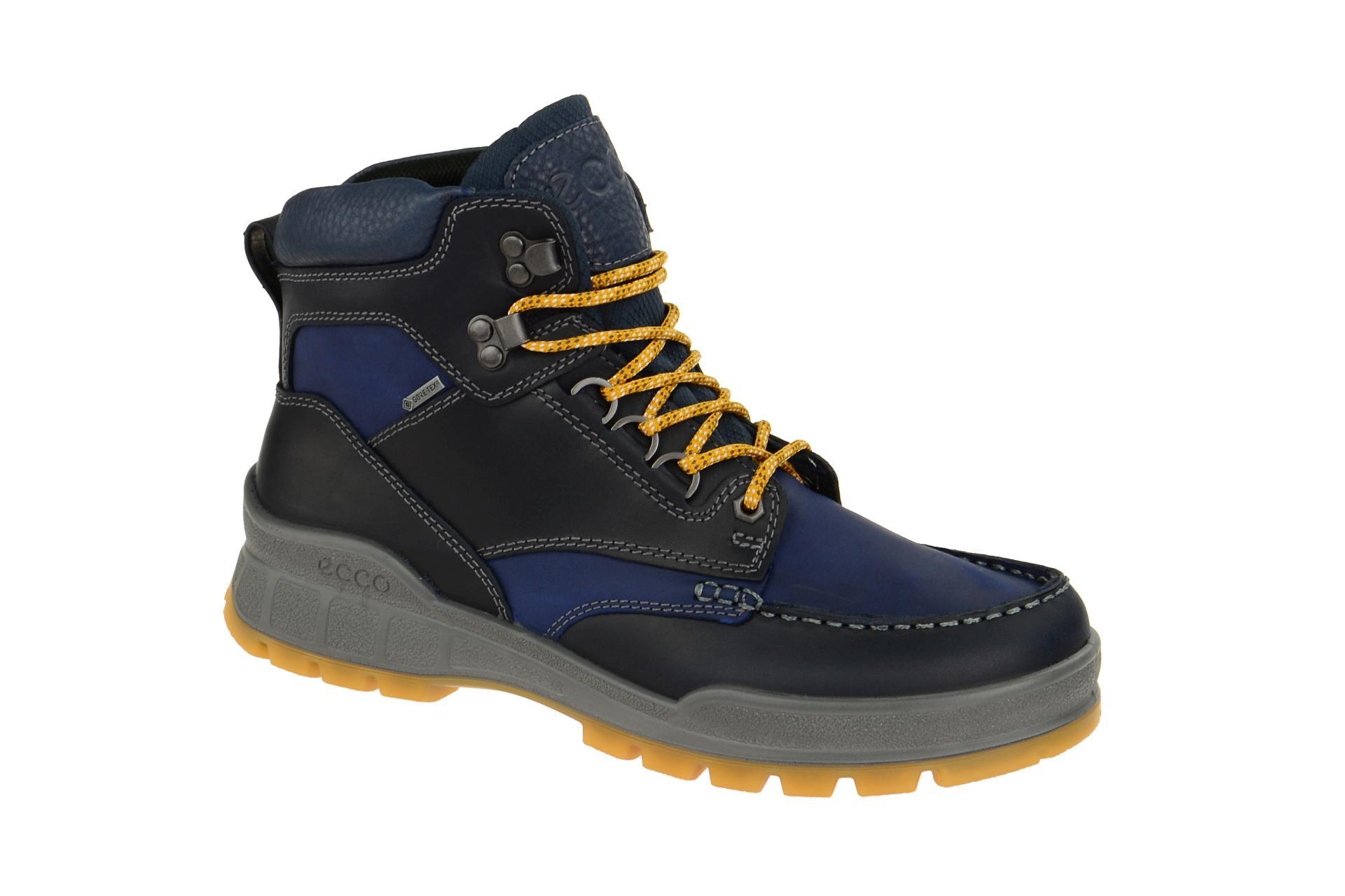 Trekkingschuhe Ecco Track 25 Rold Mid GTX Boots Gore Tex