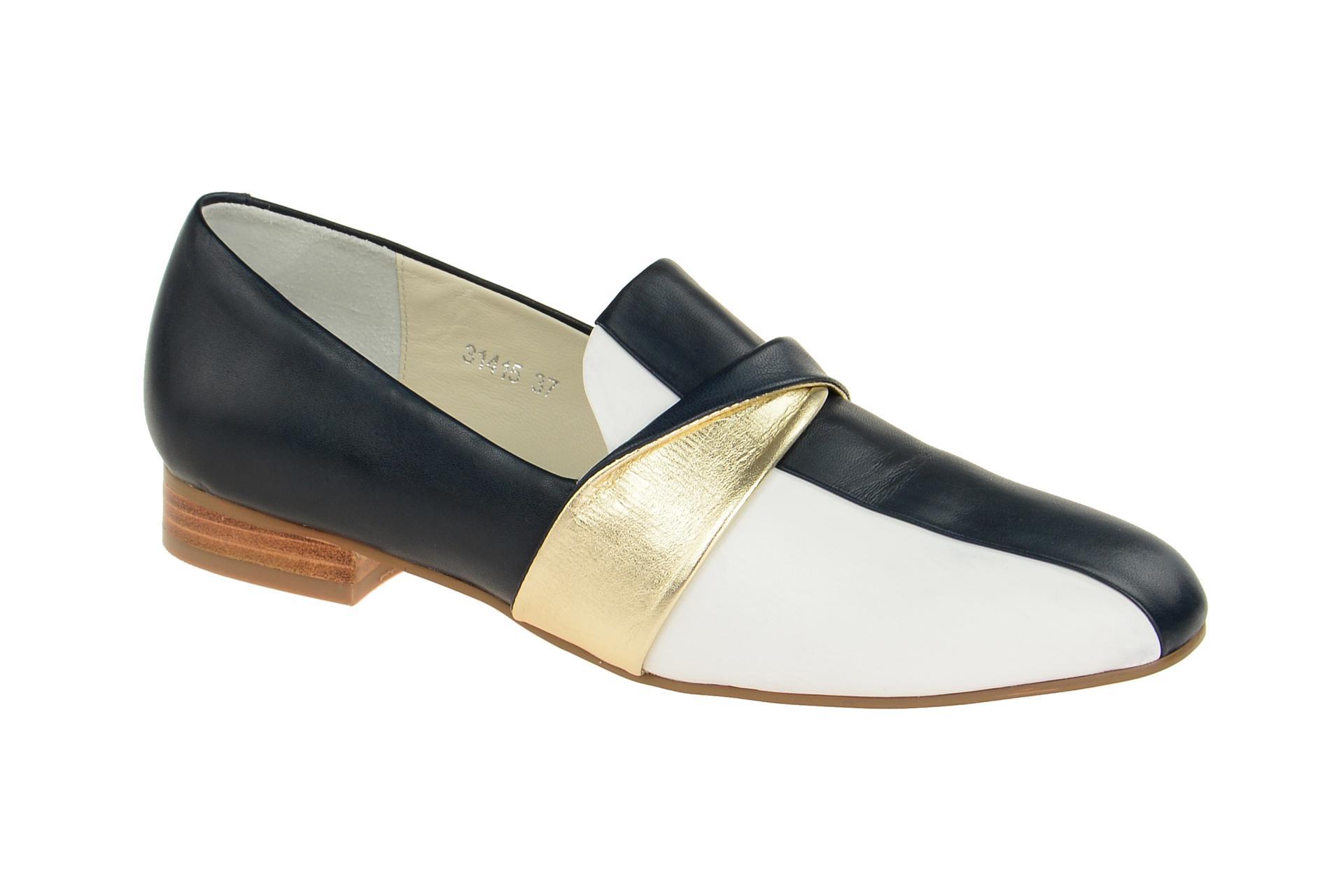 detailed look 3854f fddd7 Details zu Everybody Schuhe 31415 blau Damenschuhe elegante Slipper  31415P1424 blu NEU