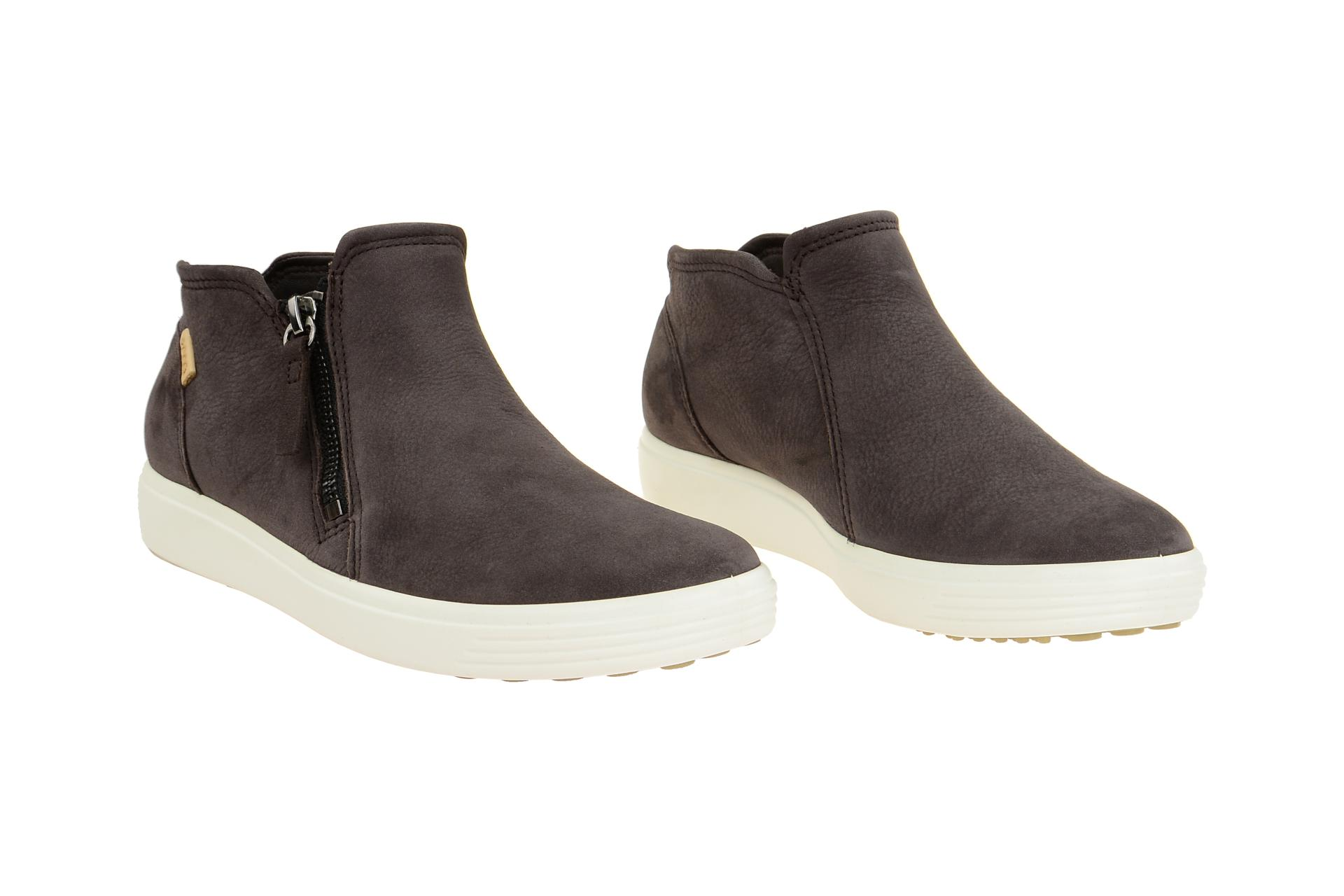 5af0138d676155 Ecco Schuhe SOFT 7 LADIES braun Damenschuhe bequeme Slipper 43024350668 NEU