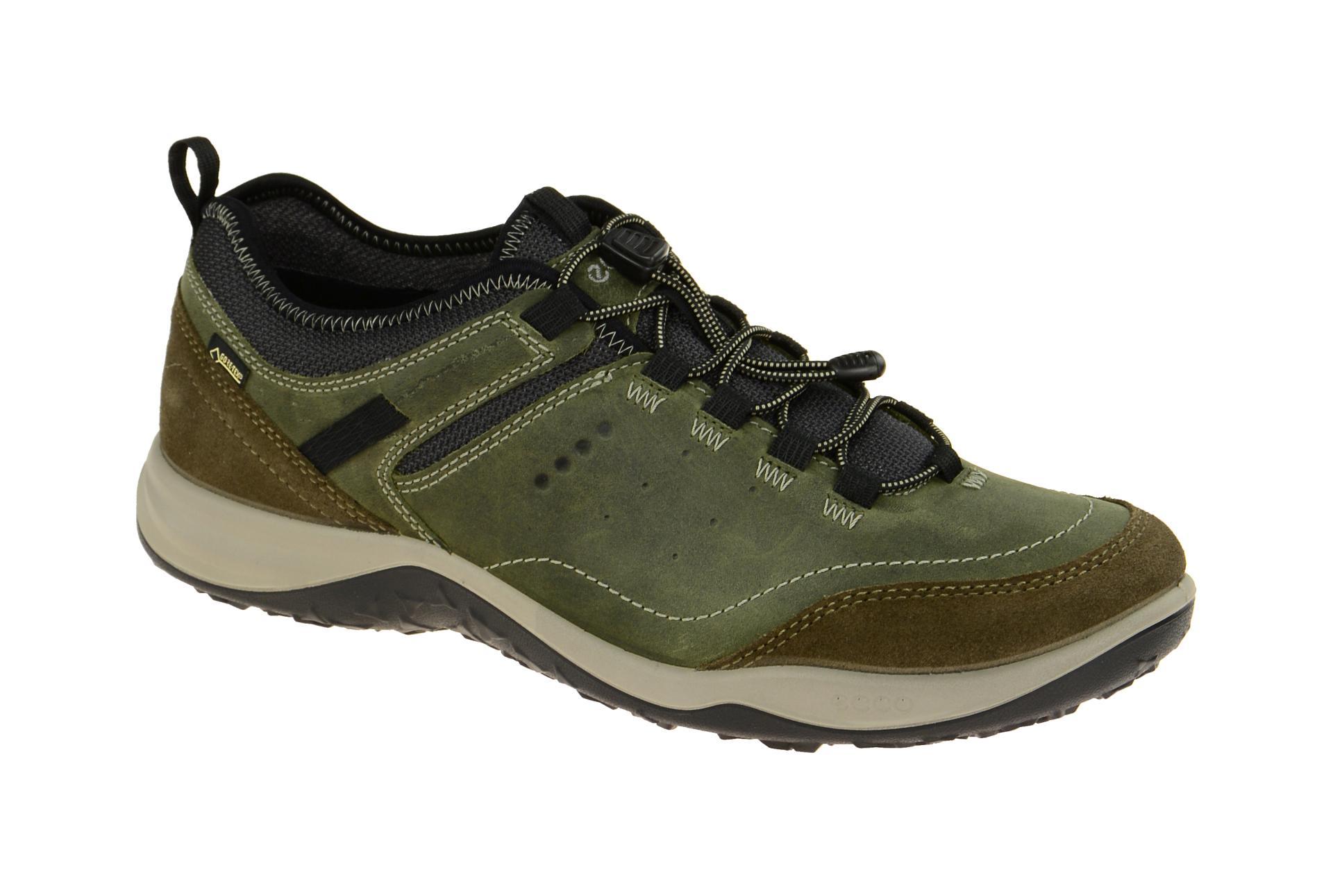 66c6d7f66c9ac2 Ecco Espinho Schuhe grün Gore-Tex - Schuhhaus Strauch Shop