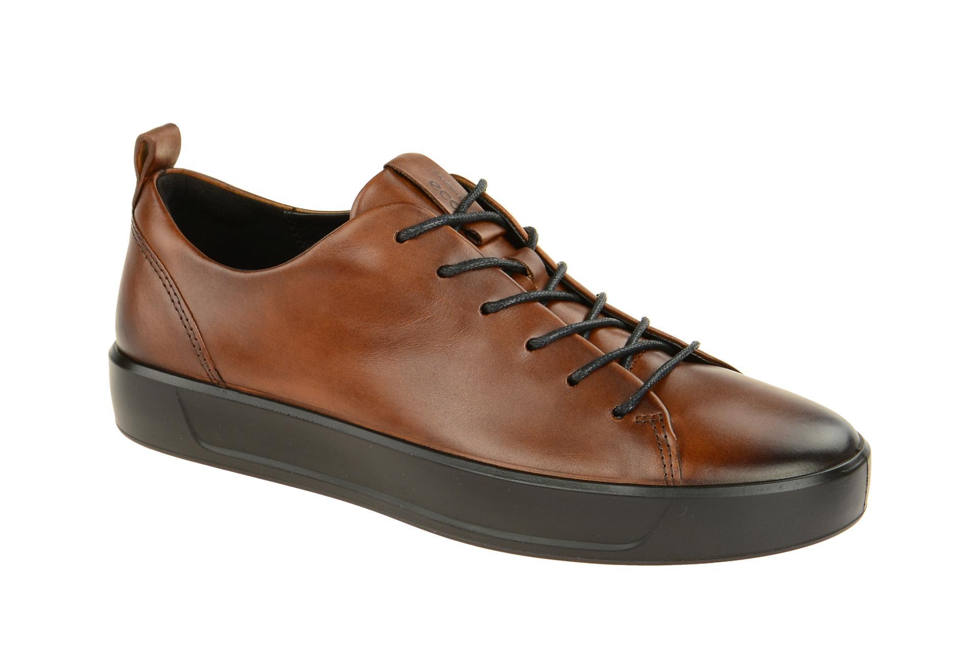 5ed2035bb57e1b Ecco Soft 8 Schuhe braun Herren Sneaker - Schuhhaus Strauch Shop
