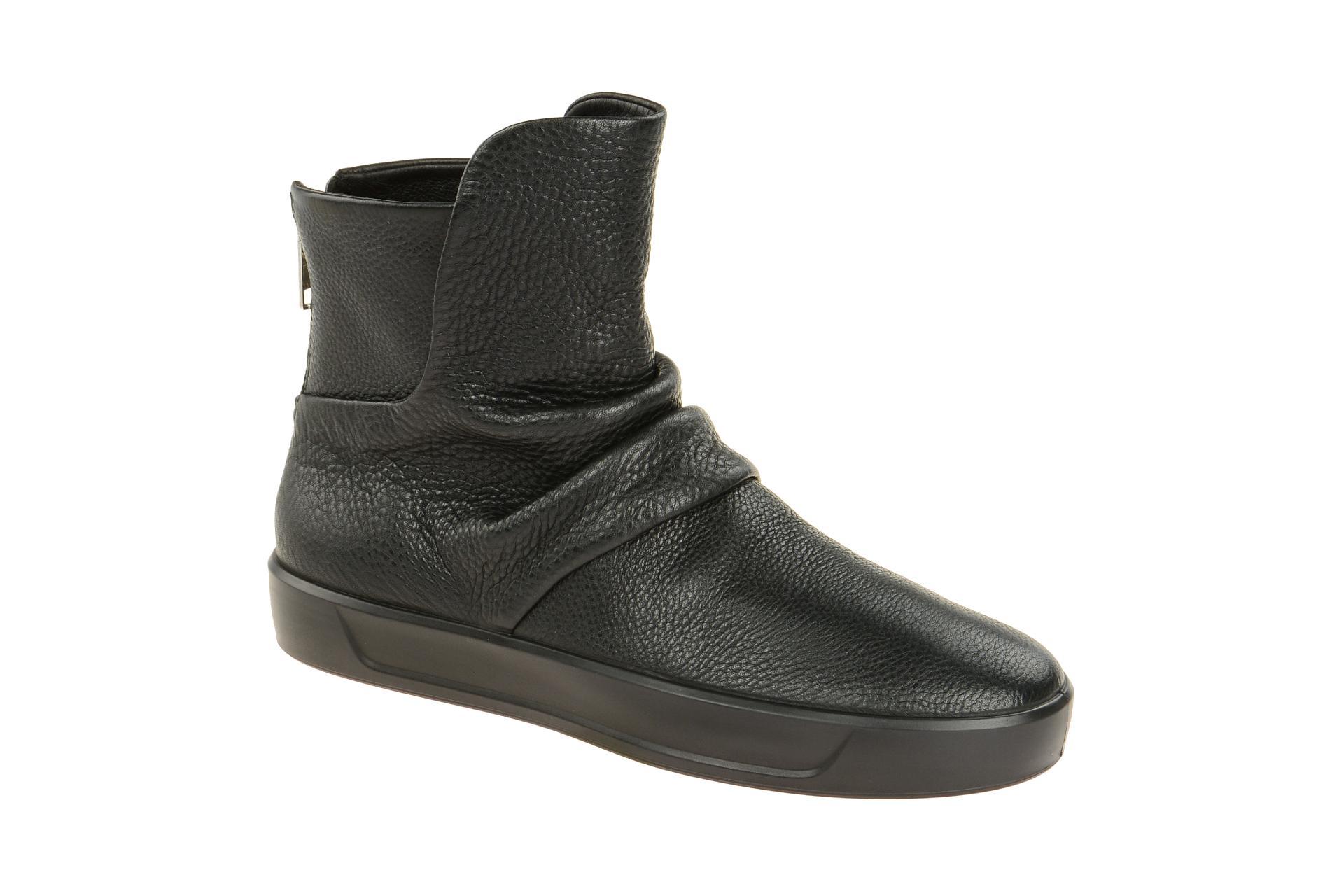 professionelles Design Repliken großer Verkauf Details zu Ecco Schuhe SOFT 8 LADIES schwarz Damen Stiefeletten 44056301001  NEU