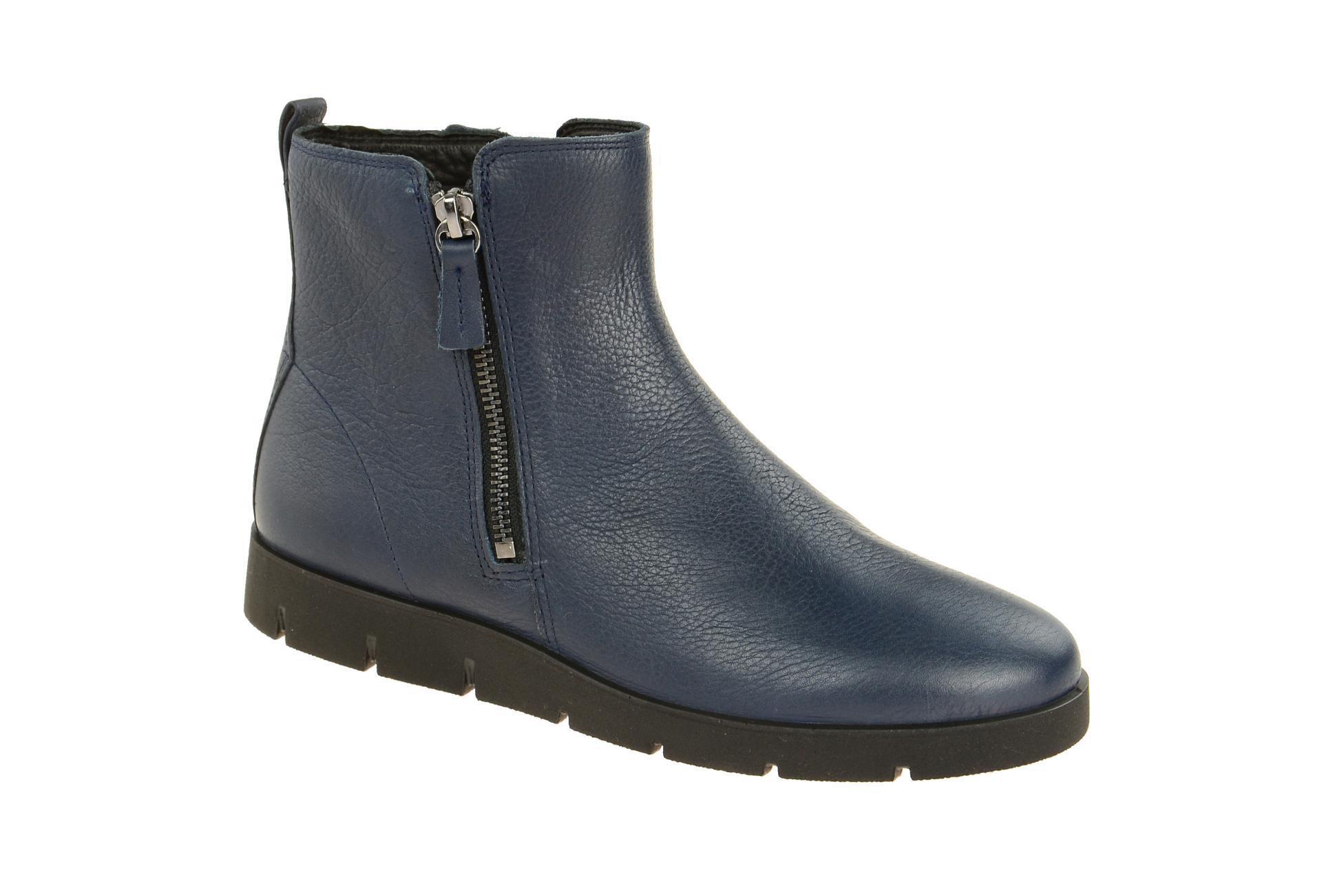 1c4cee06570754 Ecco Schuhe BELLA blau Damen Stiefeletten bequeme Stiefelette 28201301038  NEU