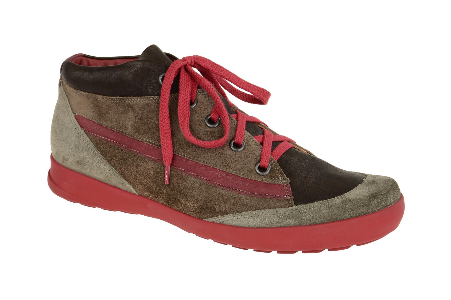 new product e9c2c 4cd58 Details zu Think Schuhe ZAGG braun Herrenschuhe Mid cut Sneaker 1-81602-21  NEU