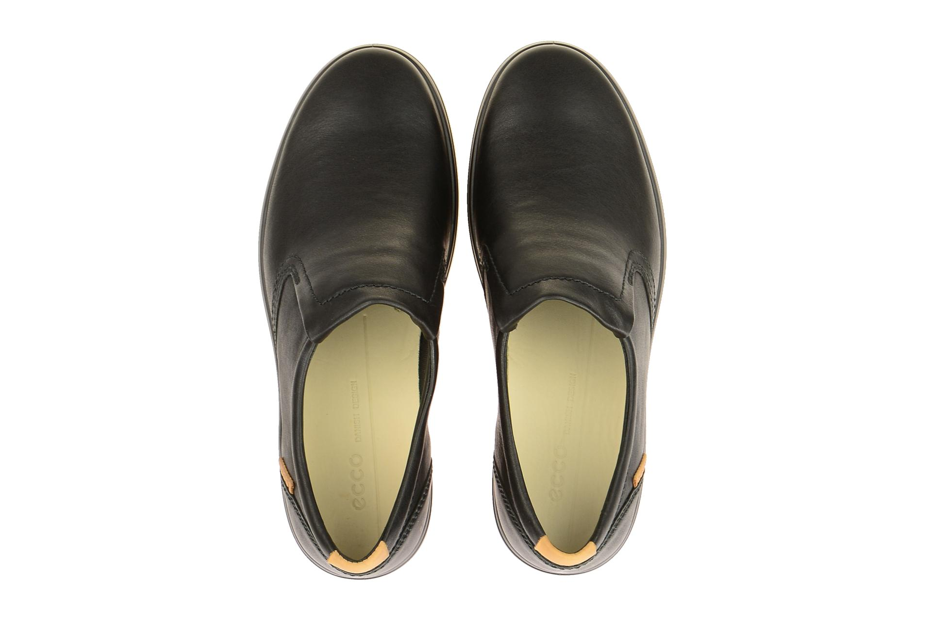 Herrenschuhe Ecco Sneaker schwarz SOFT 7 MENS 43036421001