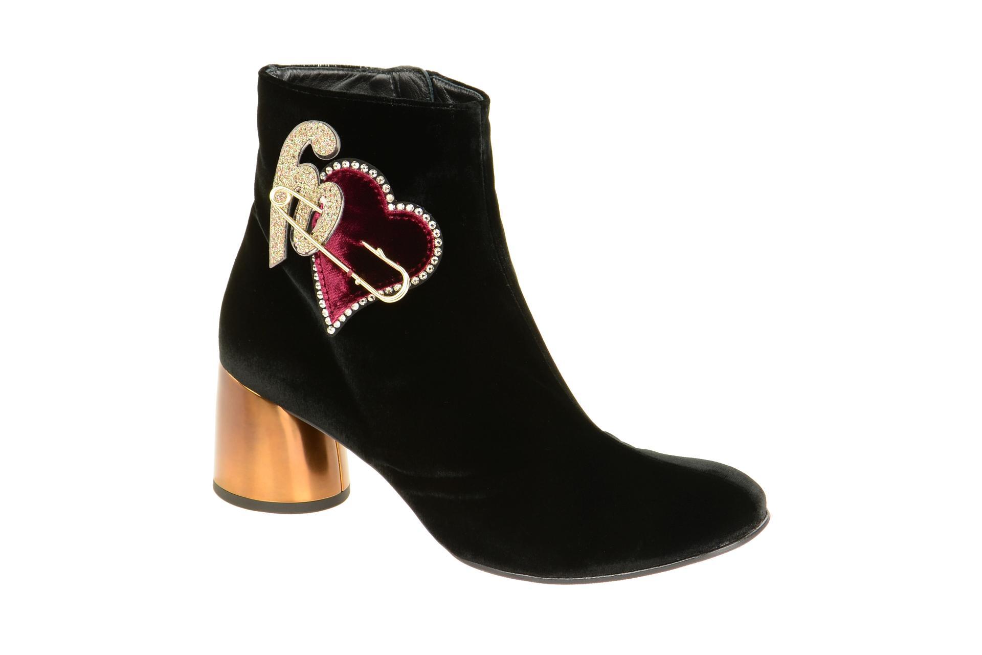 a84ba1e8777f8c Högl Schuhe 6116 schwarz Damen Stiefeletten elegante Stiefelette 4-10 6116  0100