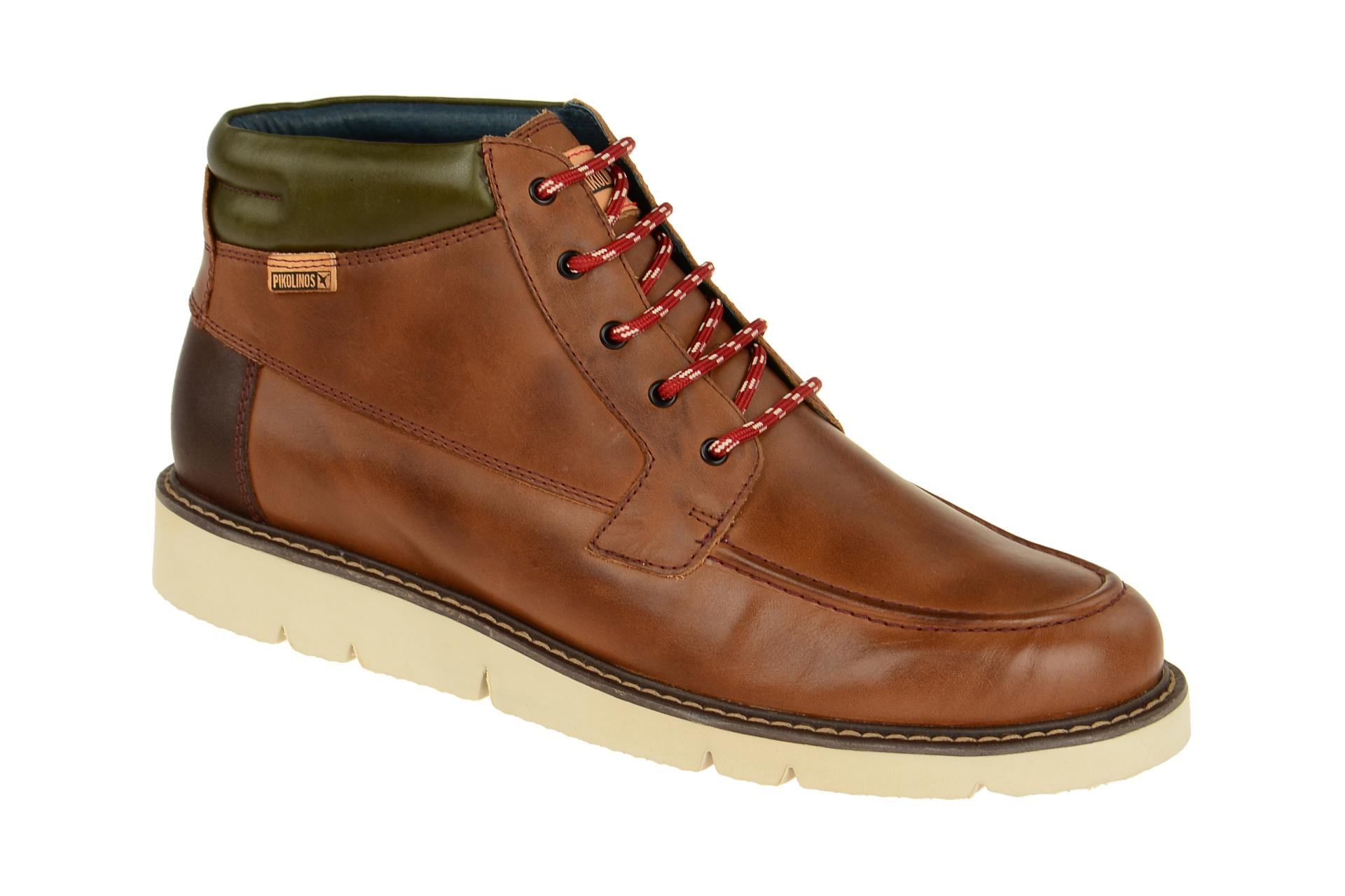 Pikolinos Schuhe ALPES braun Herrenstiefelette M7H-8124 cuero NEU