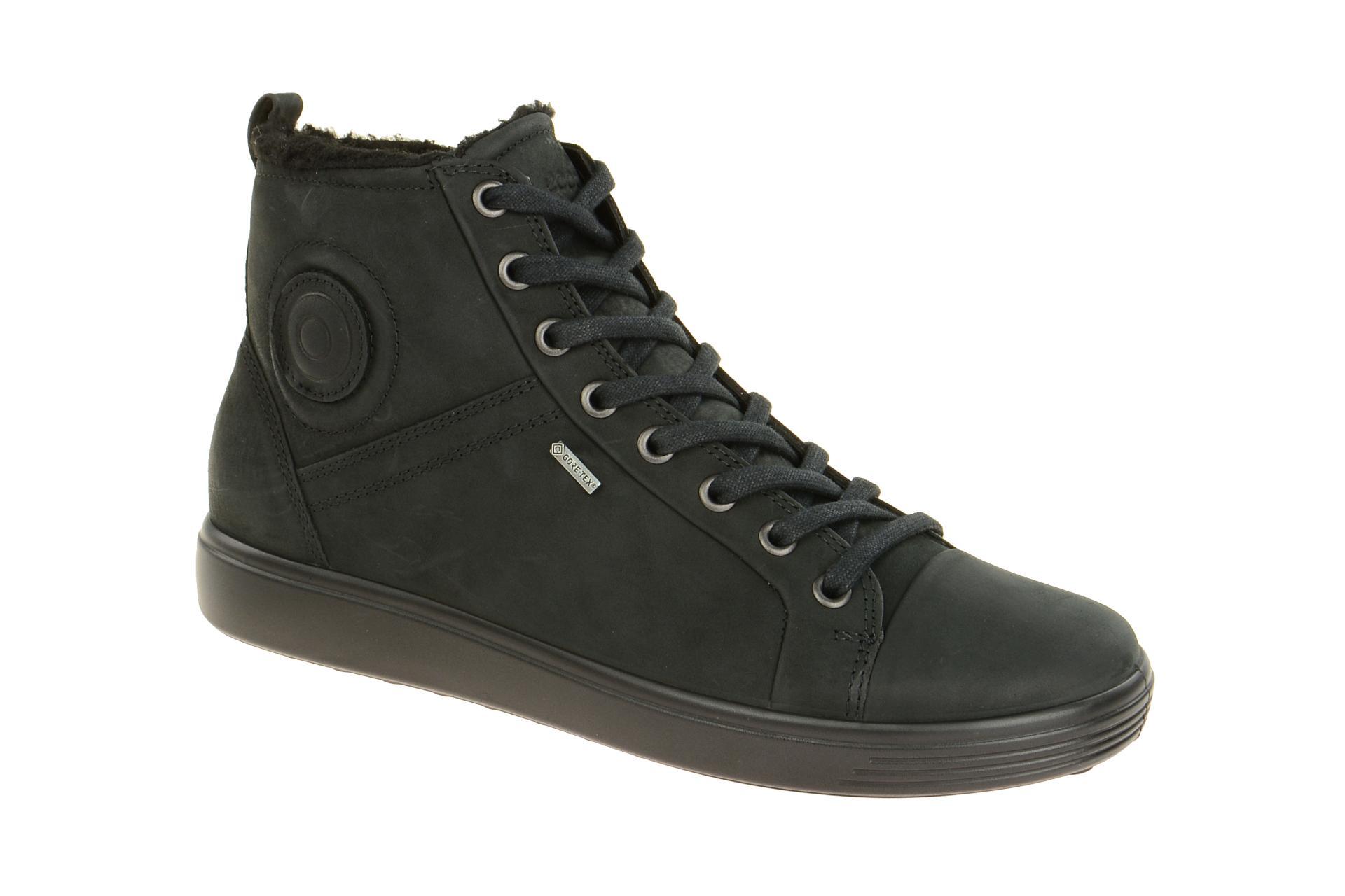 e07923795d5a1c Ecco Soft 7 Ladies Stiefel schwarz 43035302001 - Schuhhaus Strauch Shop