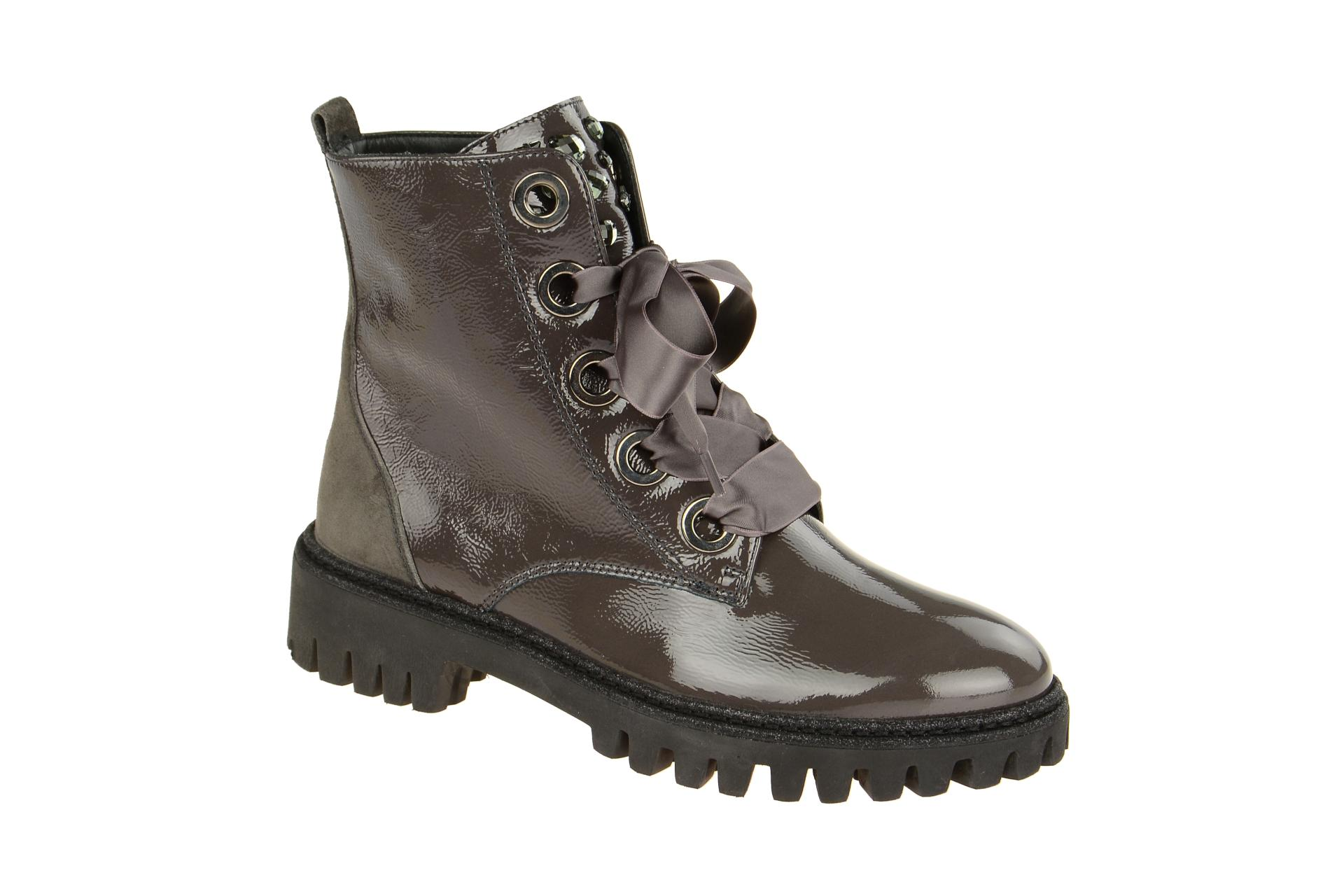 super quality special for shoe official Paul Green 9223 Stiefel grau Lack Gr 3