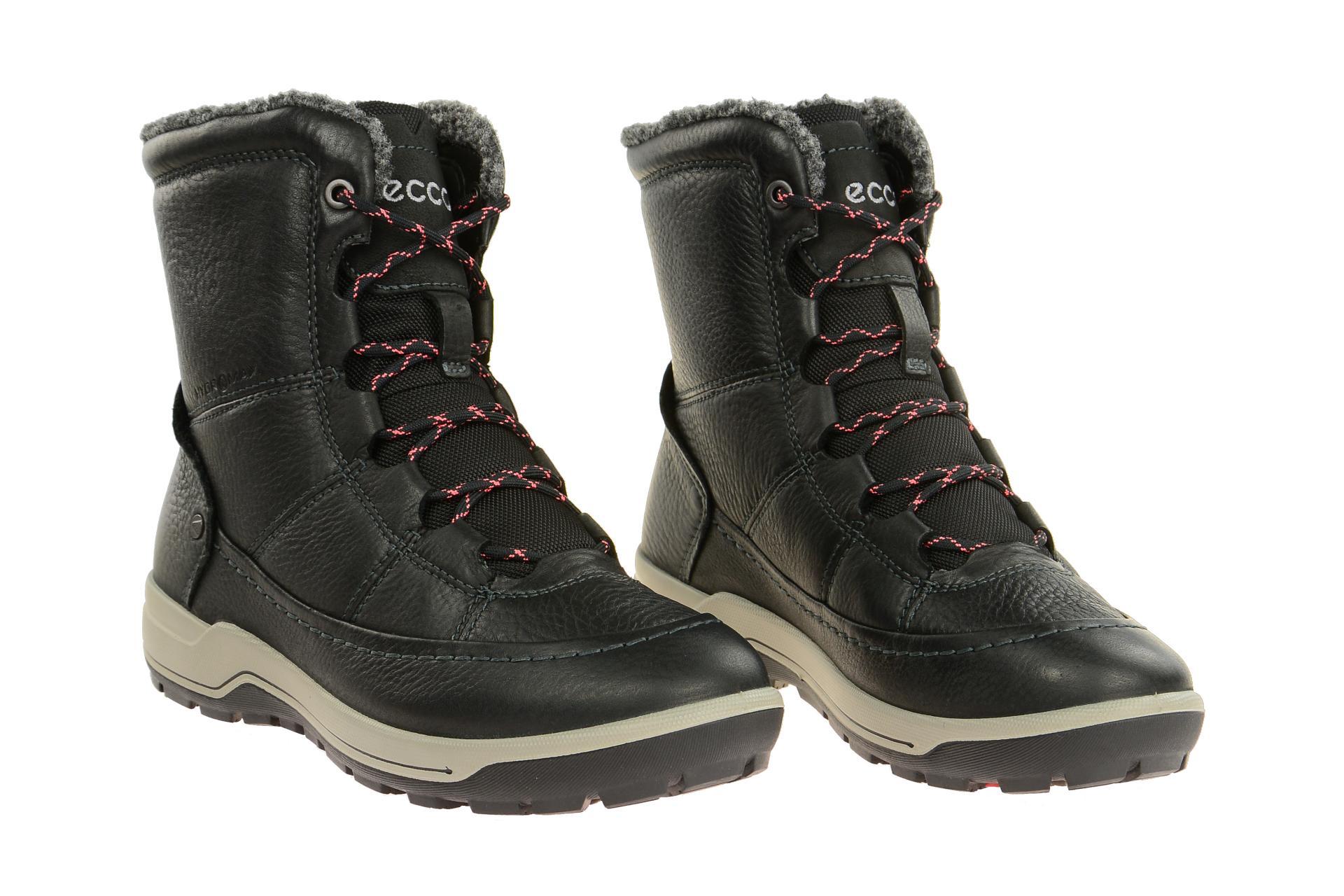 Ecco Schuhe TRACE LITE schwarz Damenstiefel Winterstiefel 83215302001 NEU | eBay