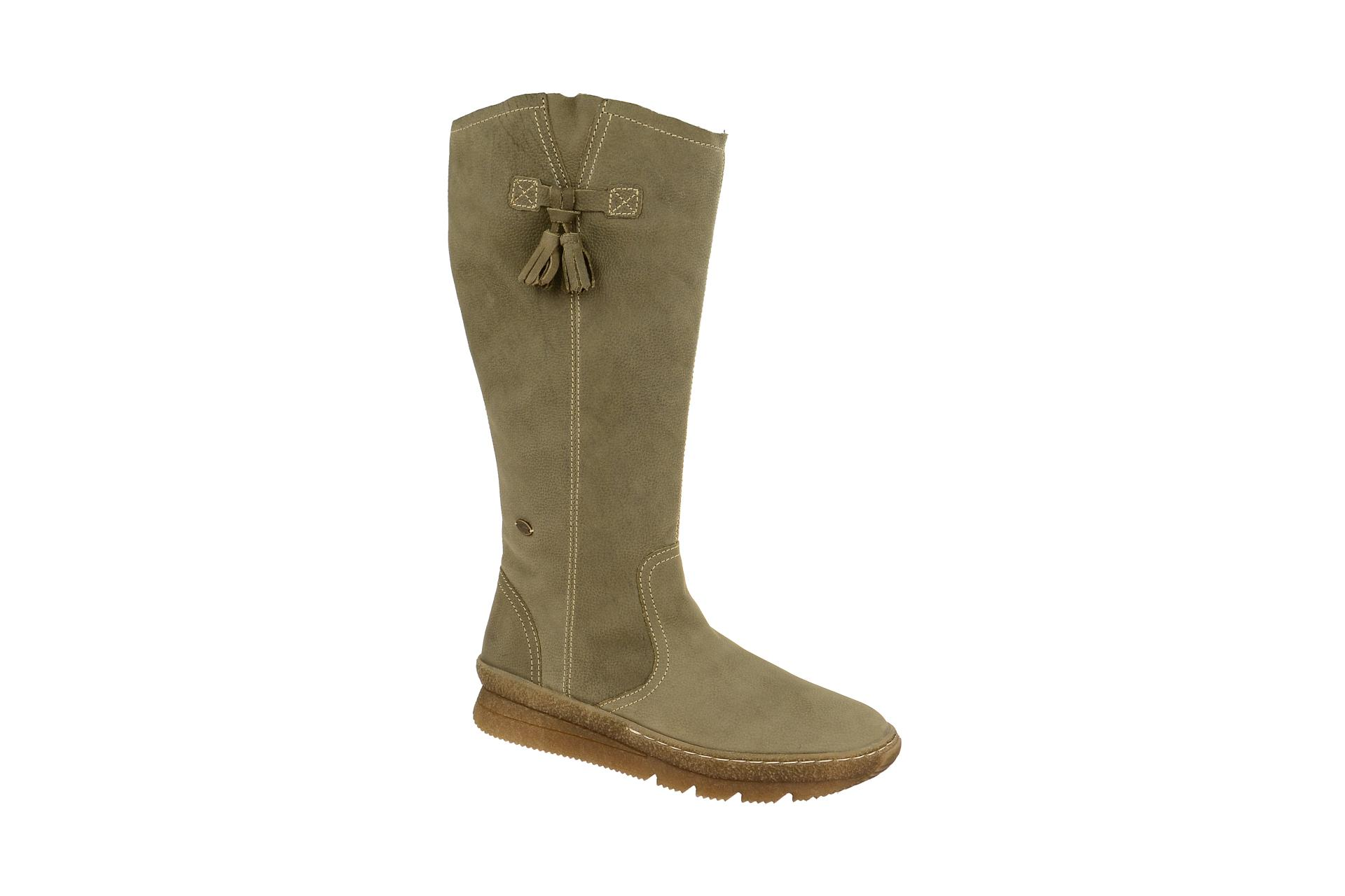 b316b0105be3 camel active Schuhe AUTHENTIC 74 grau Damenstiefel Winterstiefel ...