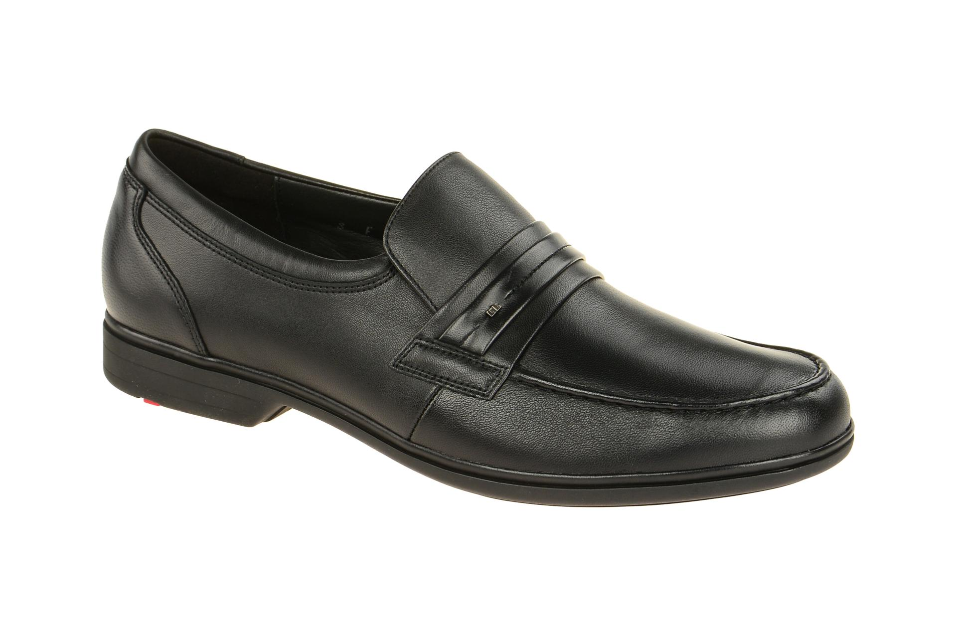lloyd schuhe robin schwarz herrenschuhe elegante slipper 27 760 00 neu ebay. Black Bedroom Furniture Sets. Home Design Ideas