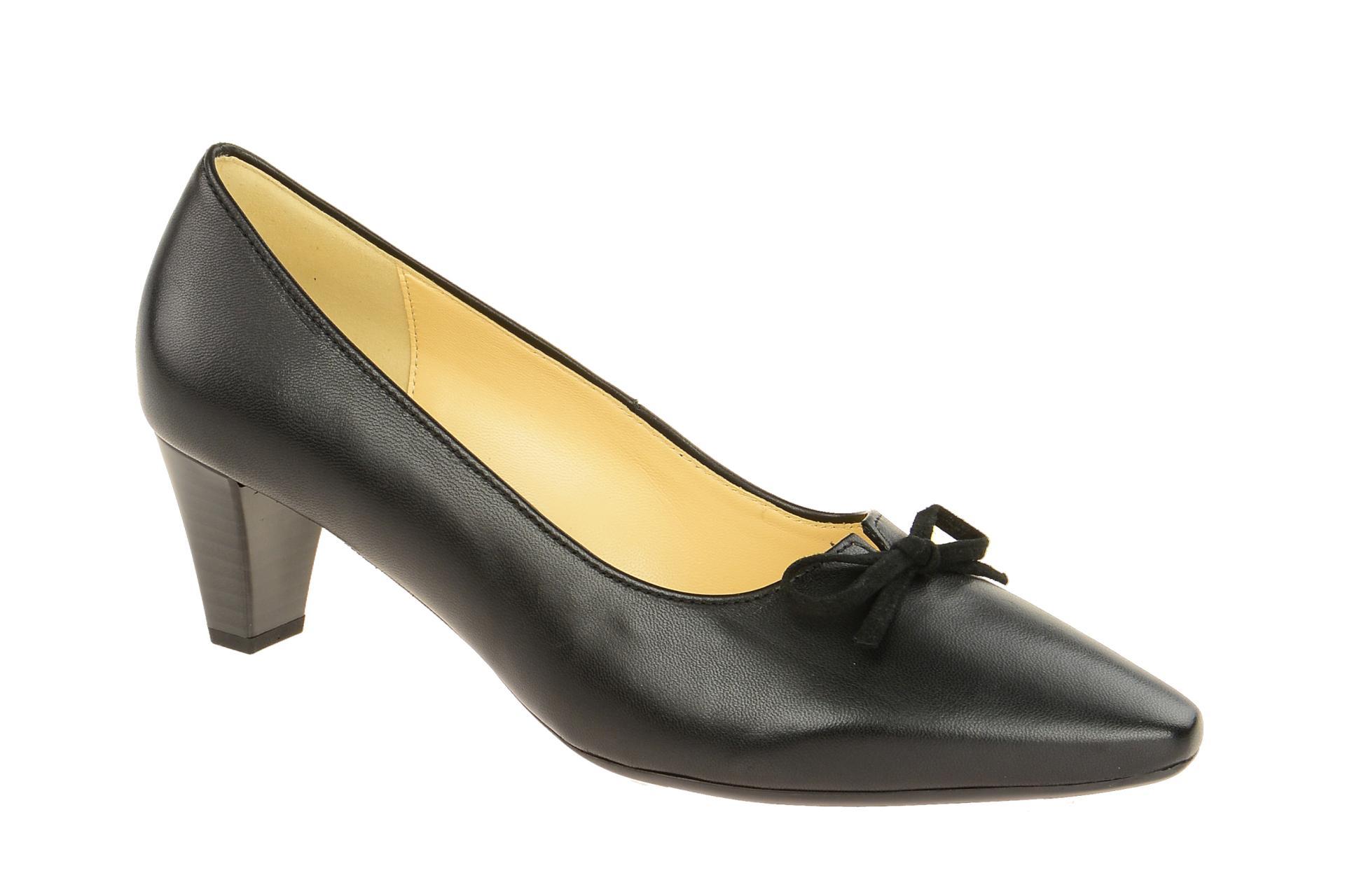 75cfab026ee813 Gabor Schuhe 95.147 schwarz Damenschuhe Pumps 95.147.37 NEU