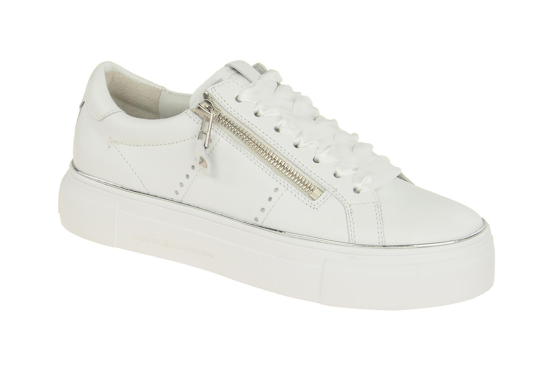 619ffc23f4a6a7 K S Big Sneakers Schuhe weiß 21020 - Schuhhaus Strauch Shop