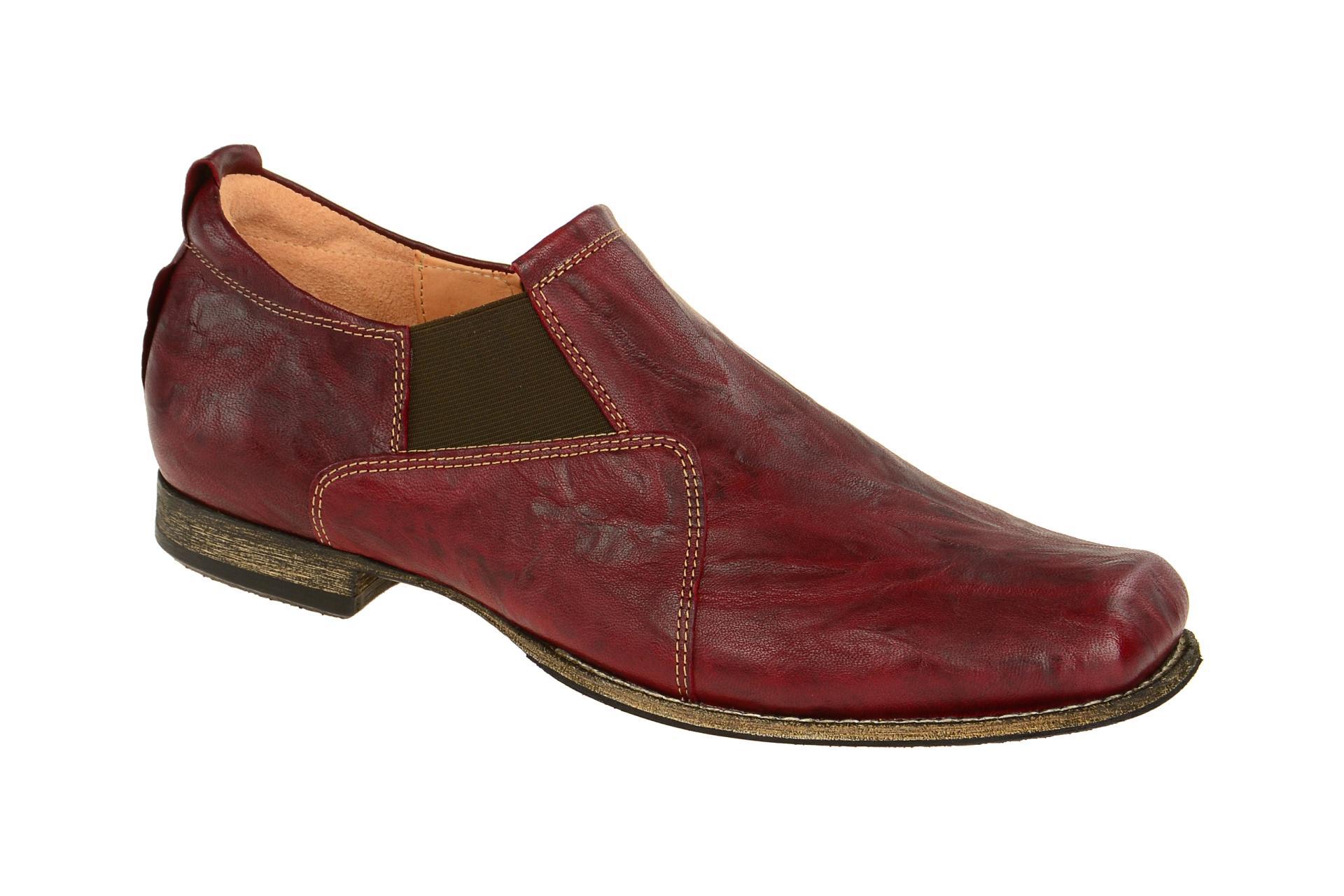 think schuhe guru rot herrenschuhe elegante slipper 2 82693 72 neu ebay. Black Bedroom Furniture Sets. Home Design Ideas