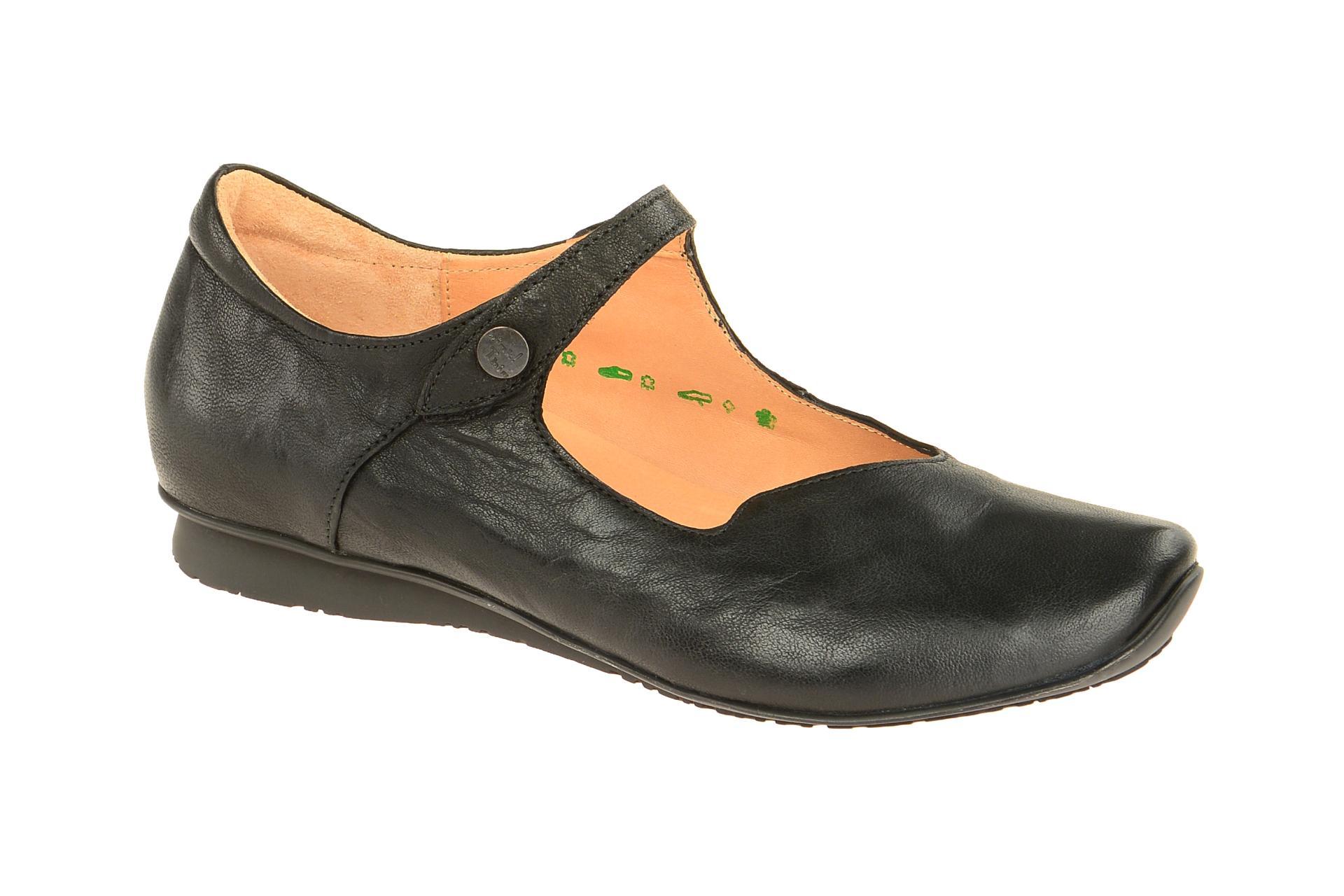 brand new a6fdc ef29e Details zu Think Schuhe CHILLI schwarz Damenschuhe bequeme Slipper  2-82107-00 NEU