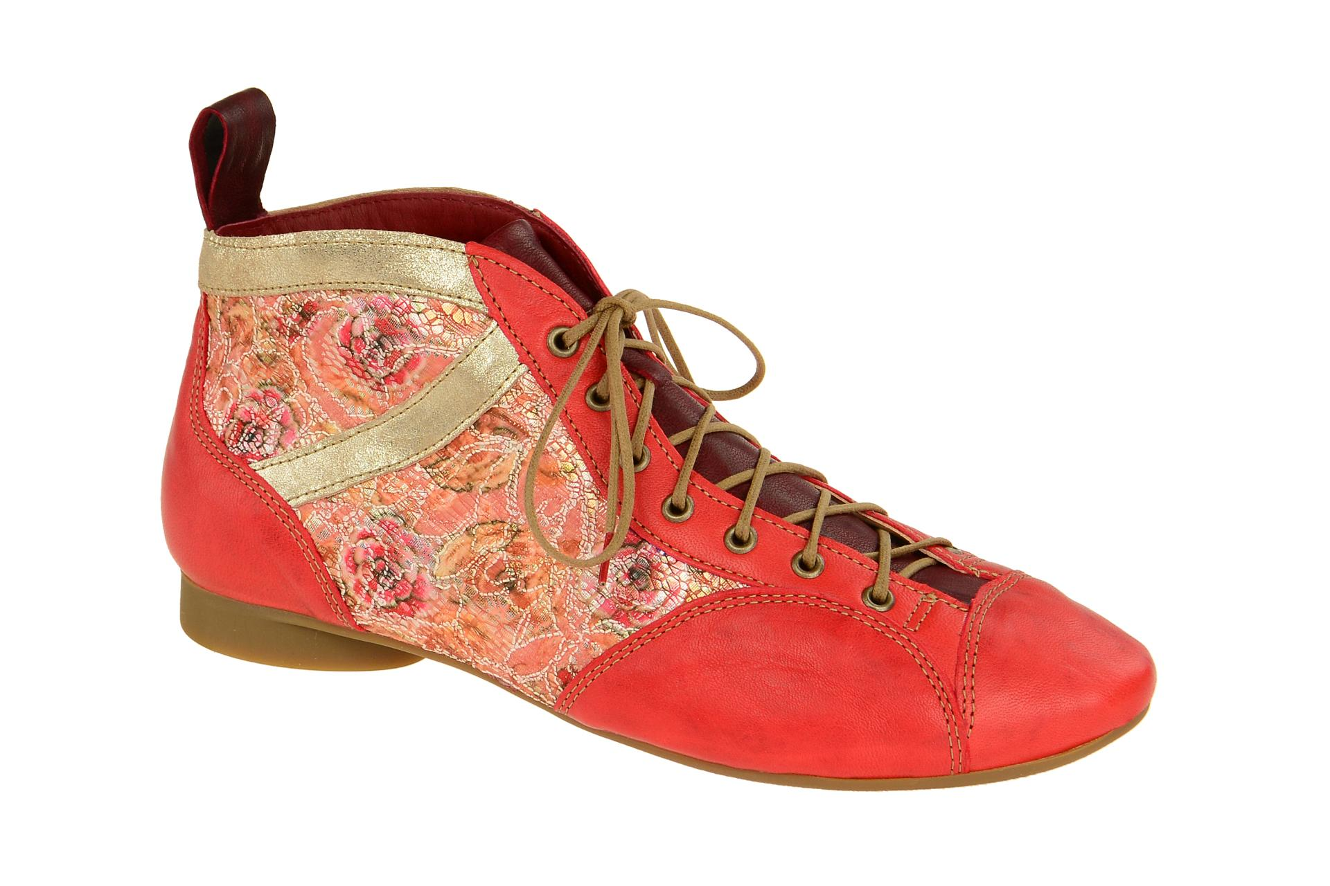 brand new 0234a 29784 Details zu Think Schuhe GUAD rot Damen Stiefeletten bequeme Stiefelette  2-82288-76 NEU