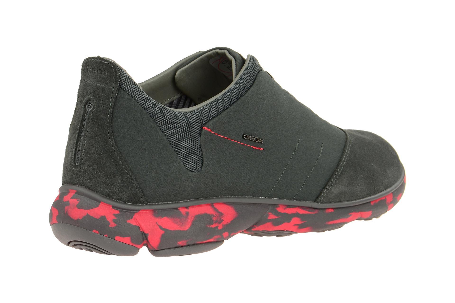 Geox U52d7b Nebula Grau Slipper 01122 Schuhe Sportliche