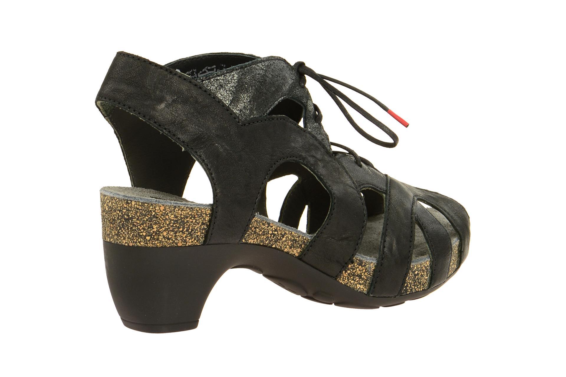82576 Traudi Think 2 Sandaletten Schuhe Zu Sandale Schwarz Damen Details 09 Neu SzVpUM