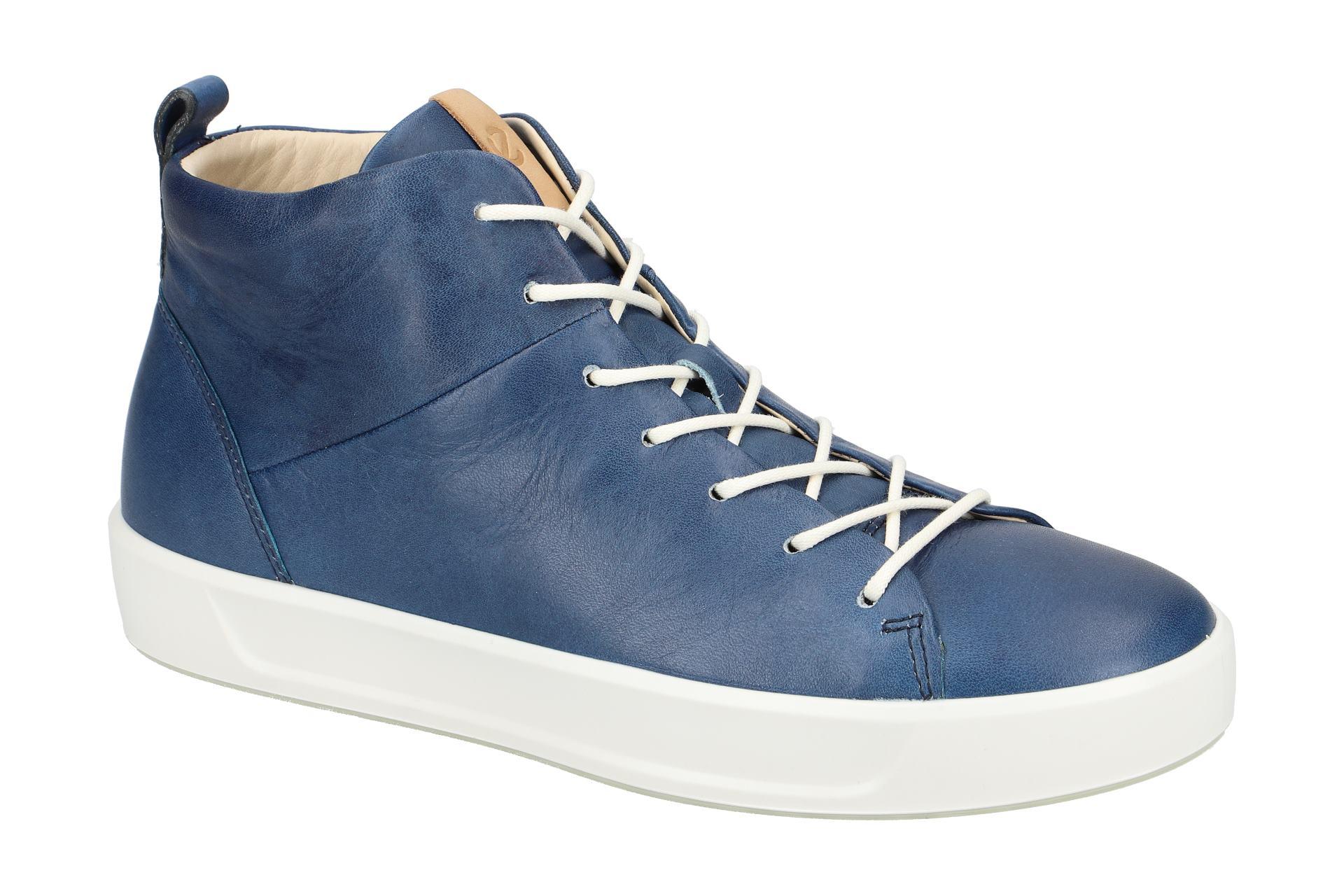 Damen Neu Ladies Blau Details Zu Schuhe Ecco 44053301321 8 Stiefeletten Soft u5c3lTFK1J