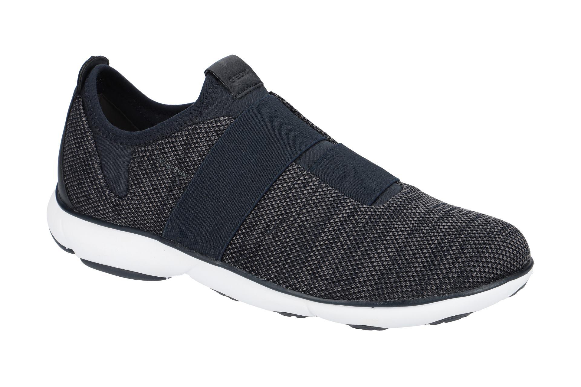 Geox Schuhe NEBULA blau Herrenschuhe sportliche Slipper