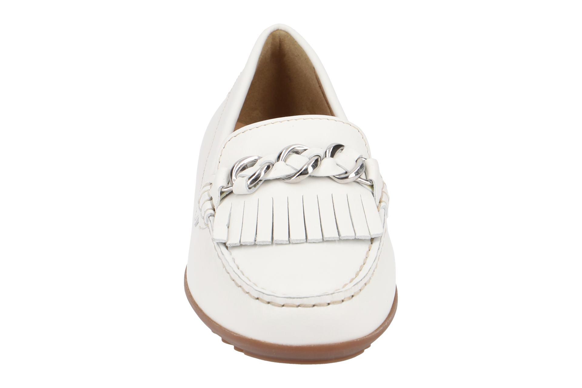 Details zu Geox Schuhe ELIDIA weiß Damenschuhe bequeme Slipper D822TA 00043 C1000 NEU