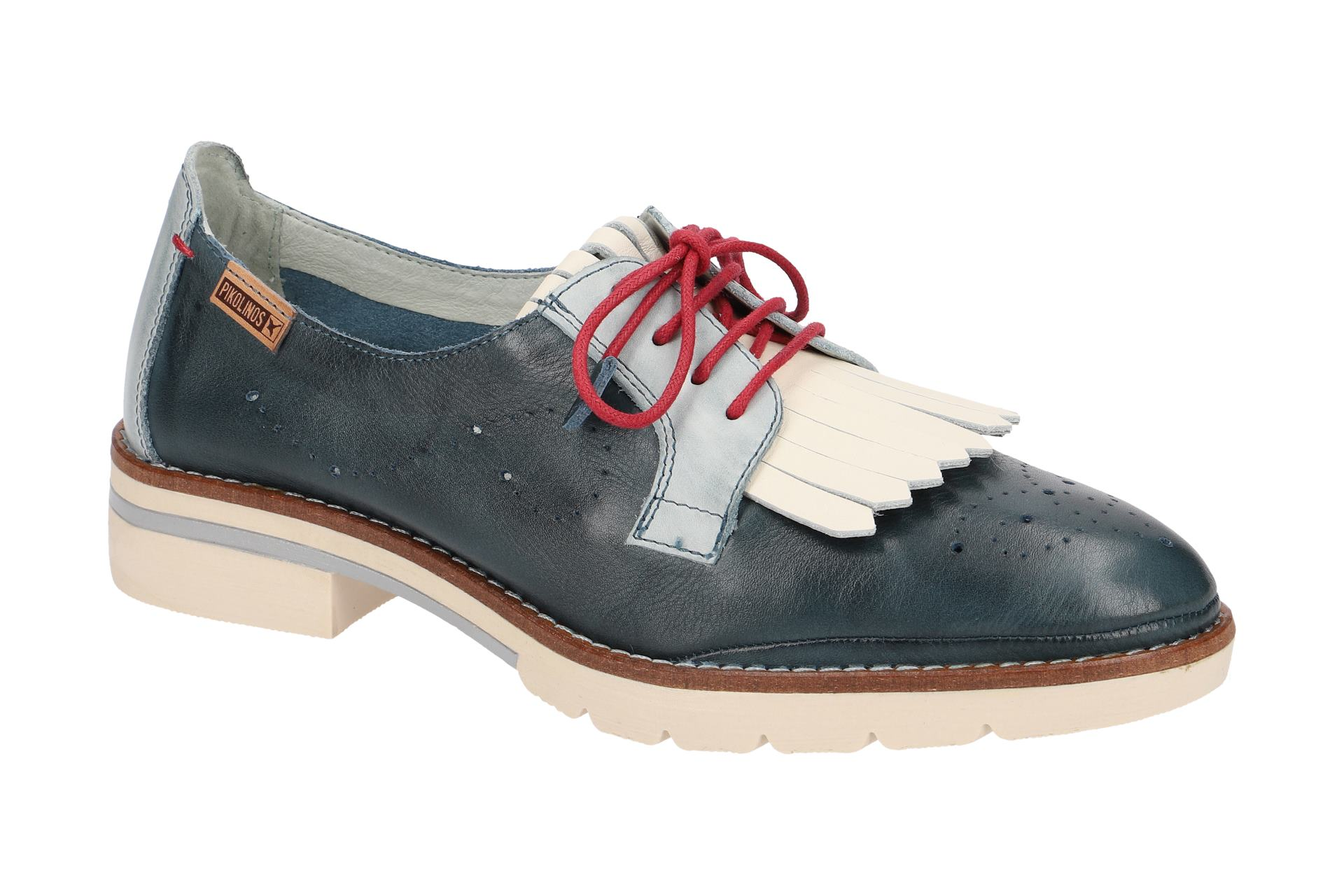 Pikolinos SITGES Damen Zapatos  - bequeme Schnür- Halb Halb Halb Zapatos  schwarz NEU 6f76a9