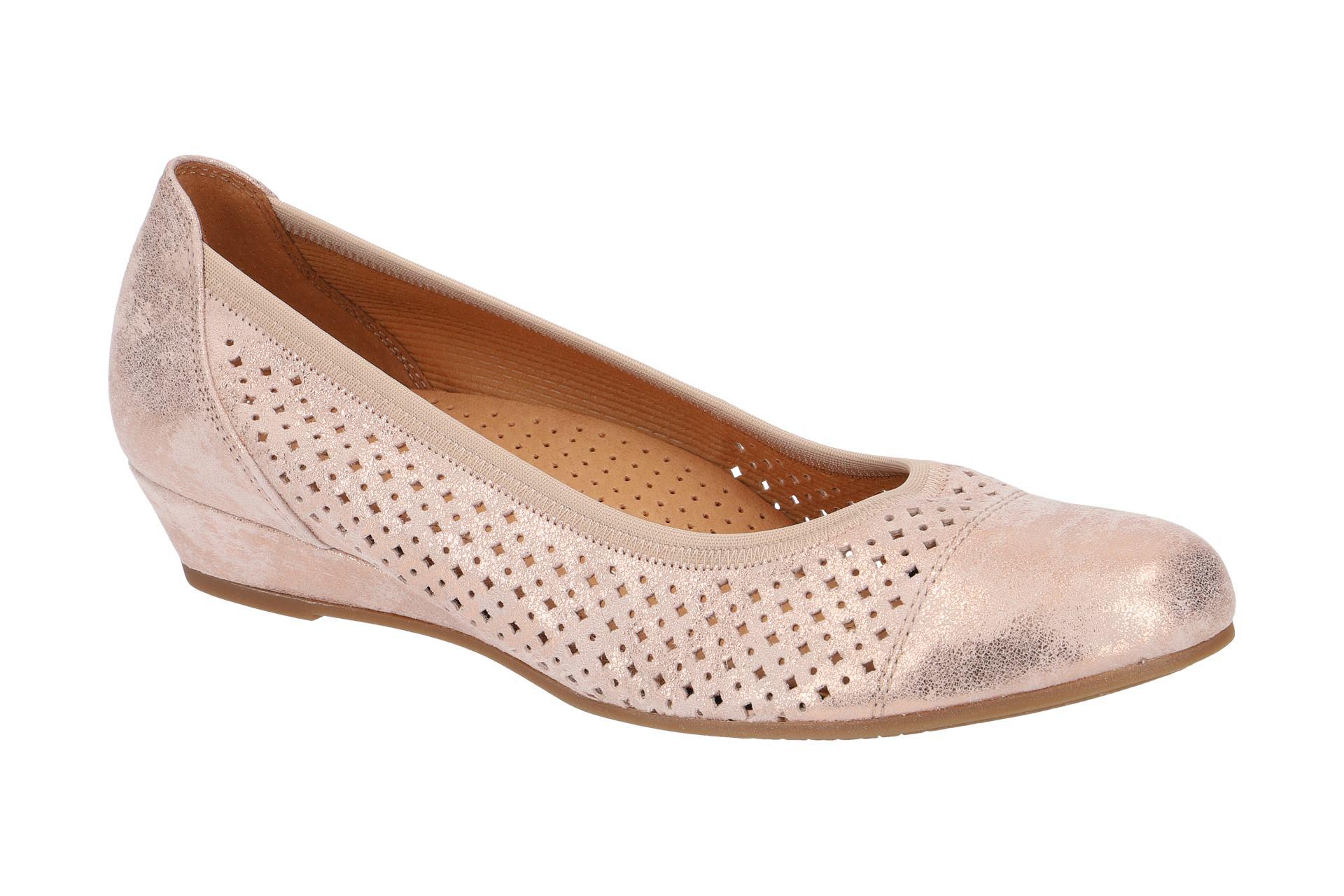 8e8dfcd8ff79 Gabor Slipper rosa metallic 82.695.94 - Schuhhaus Strauch Shop