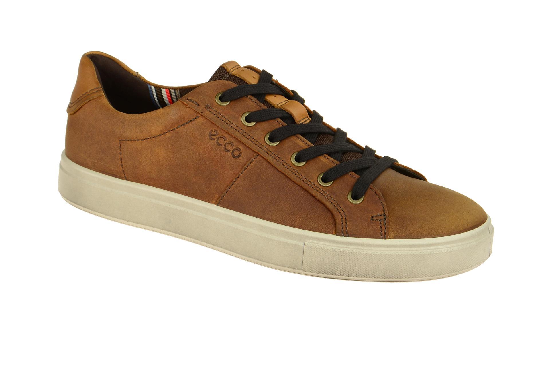 1f787b5e95236f Ecco Kyle Schuhe Sneakers hell-braun - Schuhhaus Strauch Shop